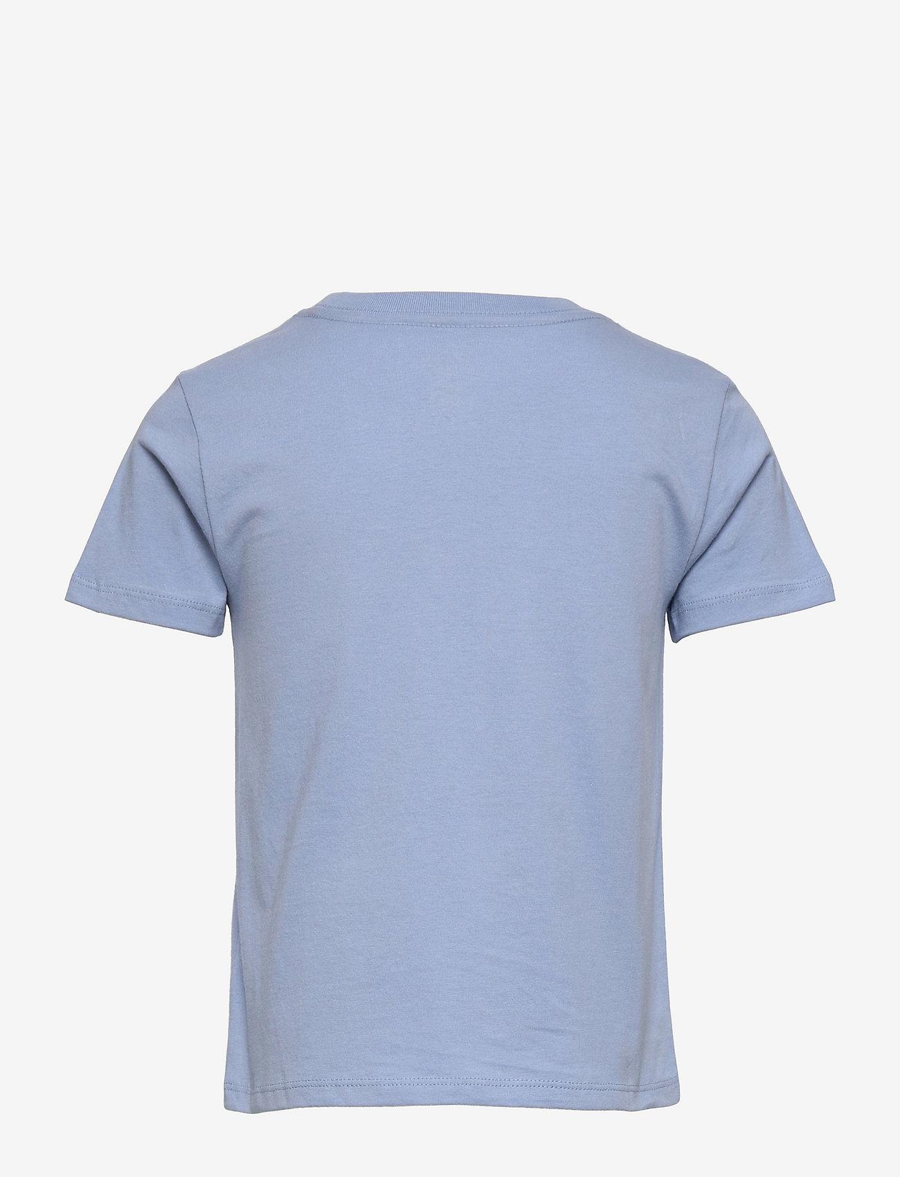 Ralph Lauren Kids - Logo Cotton Jersey Tee - pattern short-sleeved t-shirt - chambray blue - 1