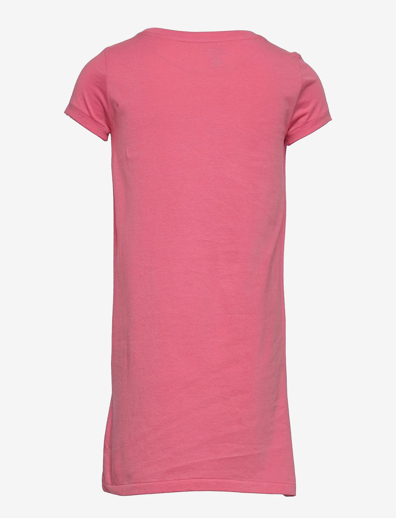 Ralph Lauren Kids - Big Pony Cotton Jersey Tee Dress - kleider - ribbon pink - 1
