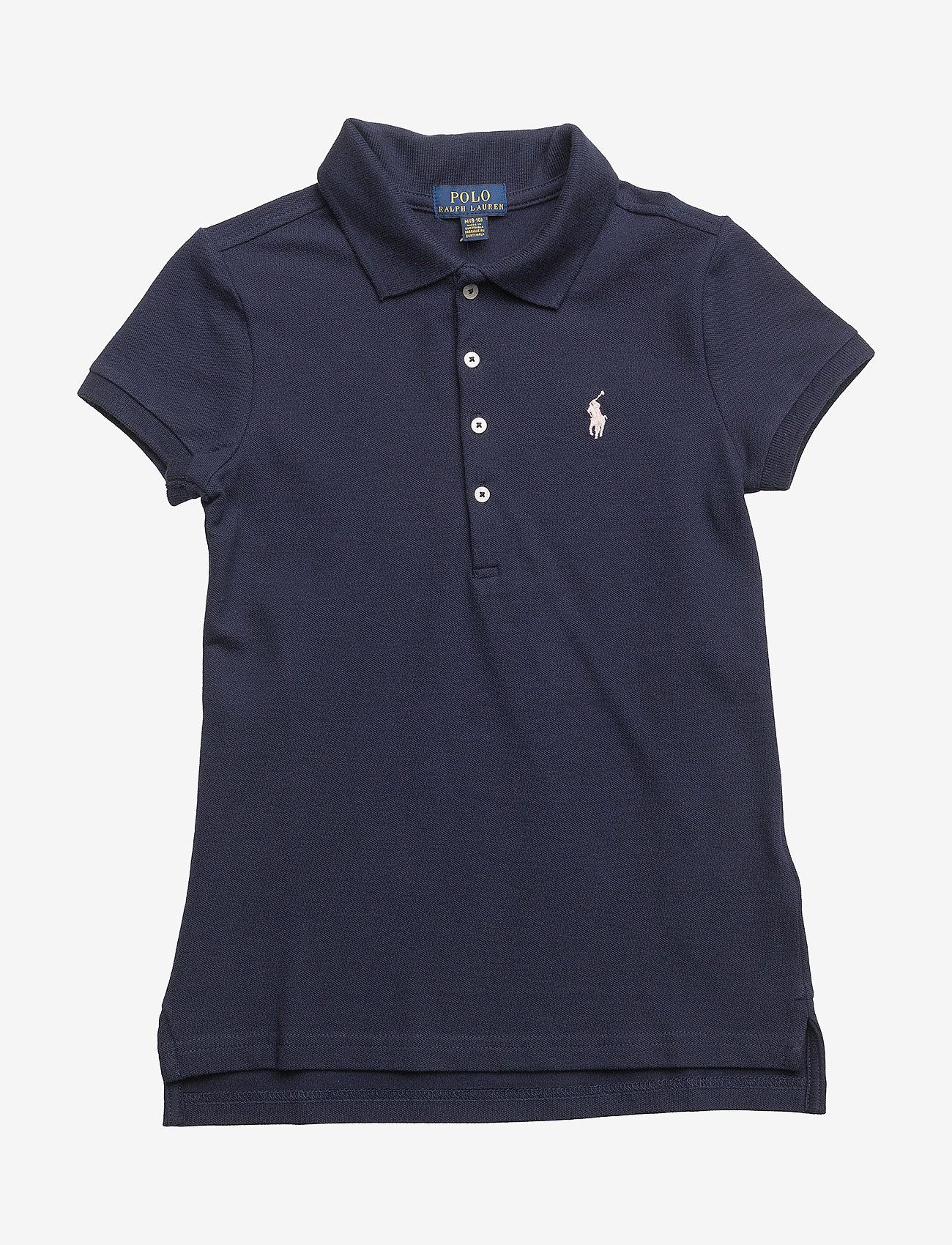Ralph Lauren Kids - Cotton Polo Shirt - pikeepaidat - french navy