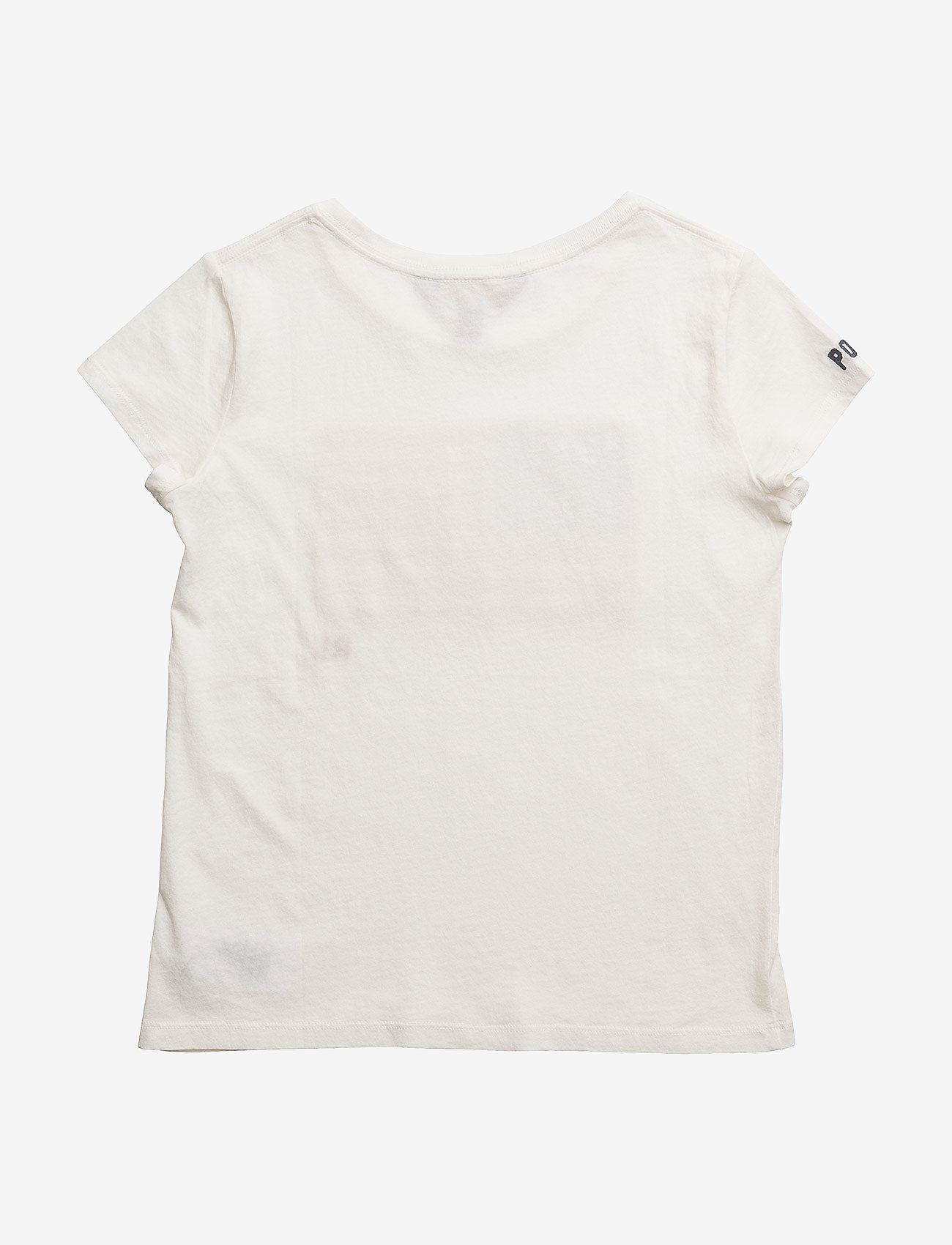 Ralph Lauren Kids - Washed Cotton Graphic Tee - short-sleeved - nevis - 1