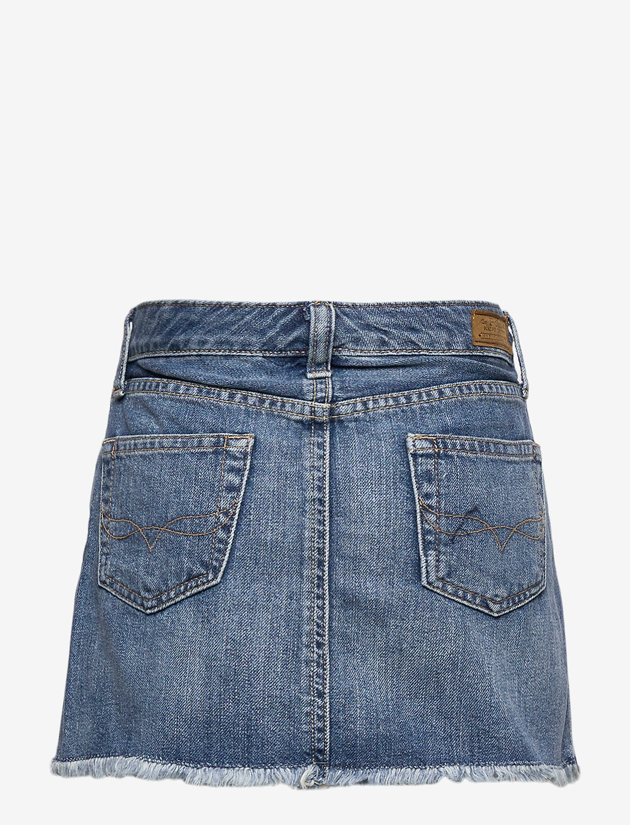 Ralph Lauren Kids - Denim 5-Pocket Skirt - skirts - bales wash - 1