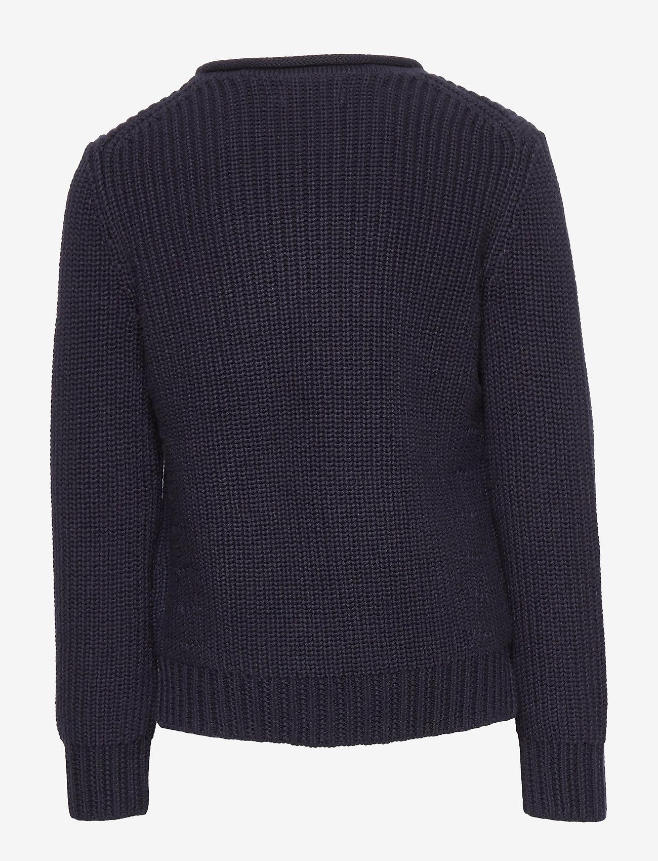 Ralph Lauren Kids - Rollneck Cotton Sweater - dzianinowe - rl navy - 1