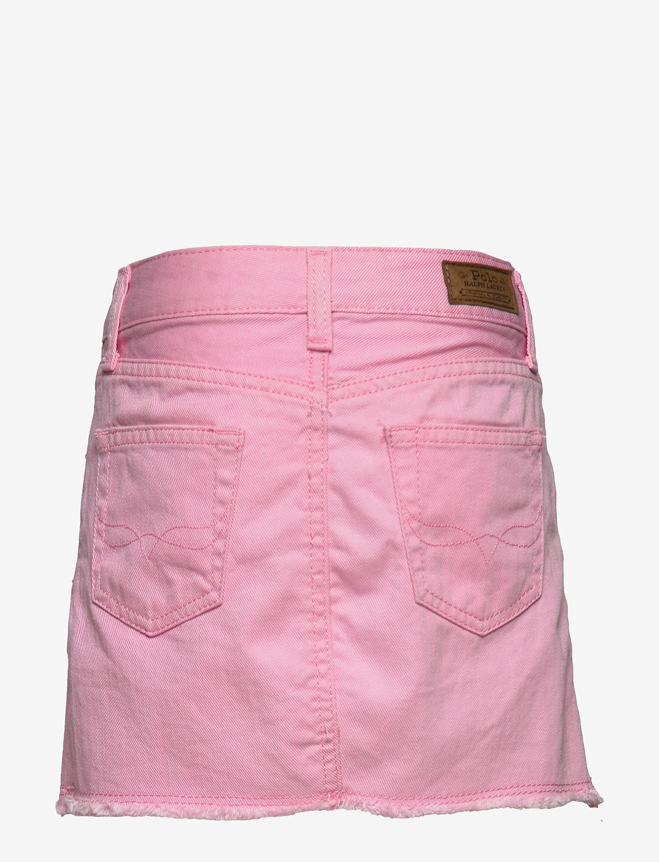 Ralph Lauren Kids - Cotton Denim Skirt - skirts - carmel pink wash