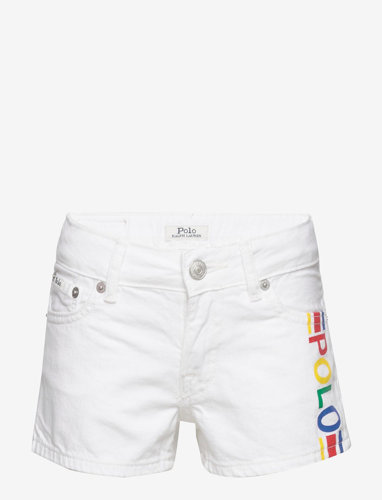 Ralph Lauren Kids - Polo Cotton Denim Short - shorts - myra wash