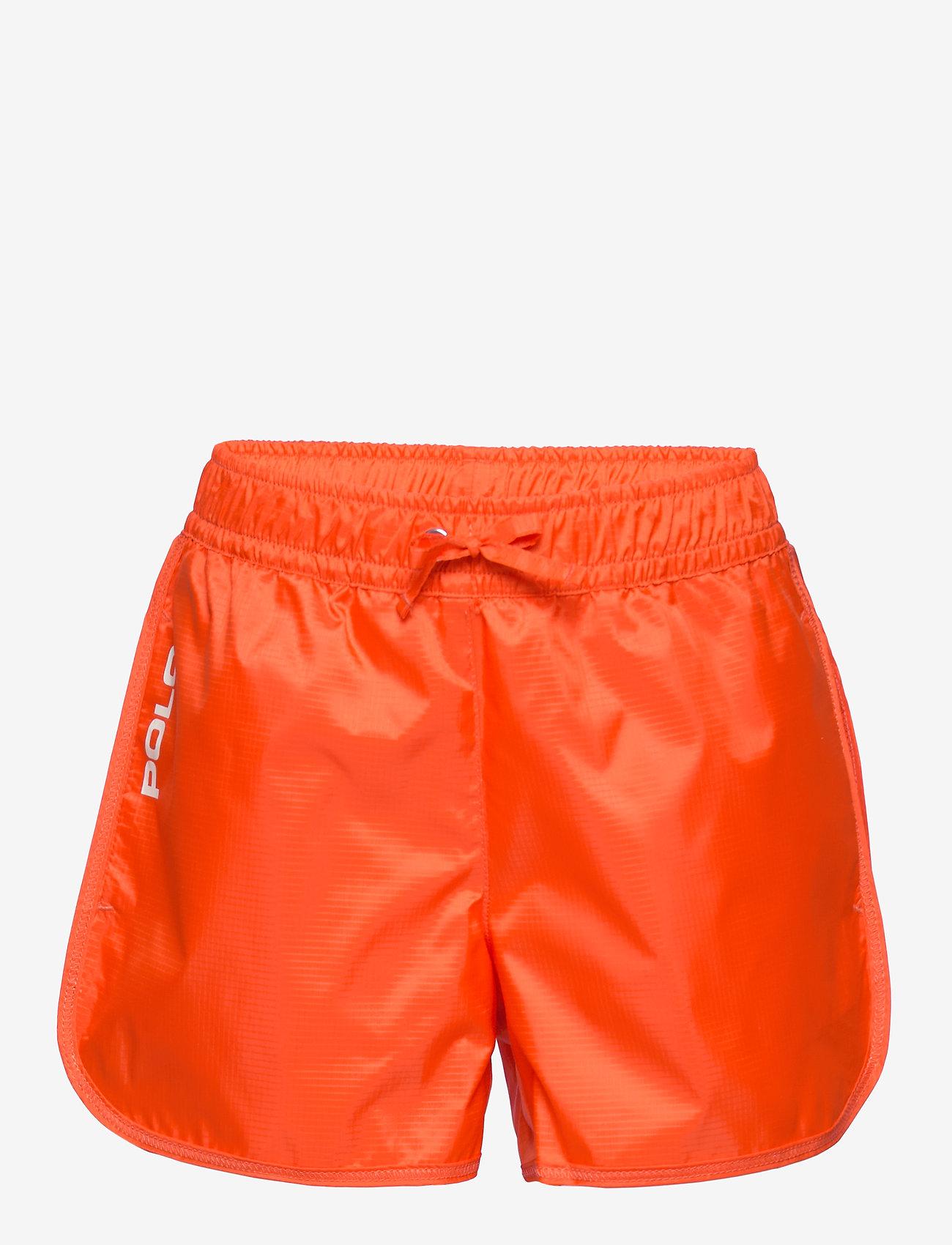 Ralph Lauren Kids - Logo Ripstop Pull-On Short - shorts - sailing orange