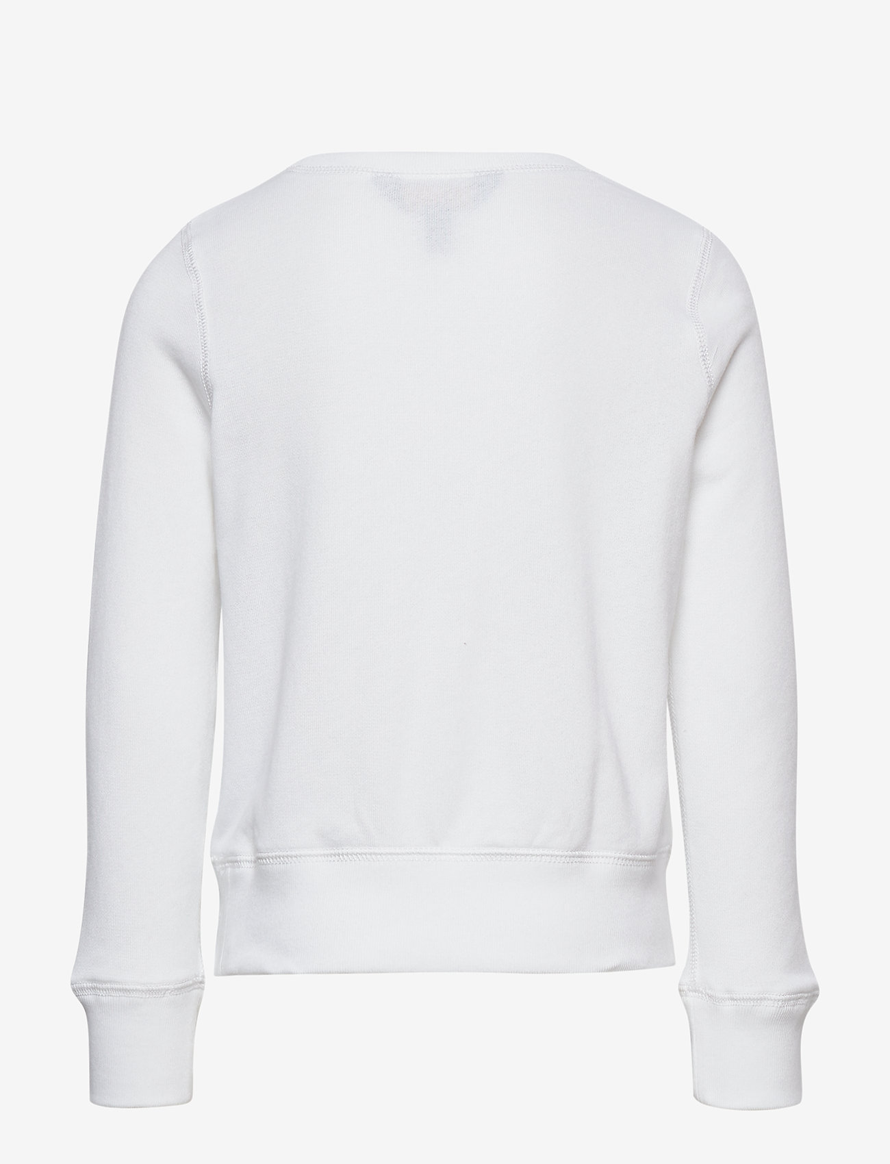 Ralph Lauren Kids - USA French Terry Pullover - sweatshirts - pure white - 1