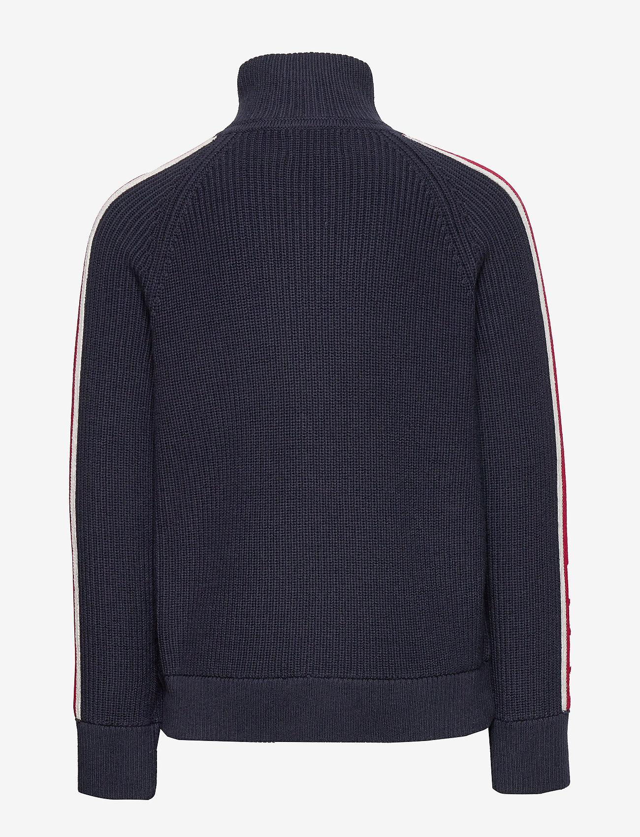 Ralph Lauren Kids - Cotton-Blend Hybrid Jacket - dunjakker & forede jakker - rl navy - 1