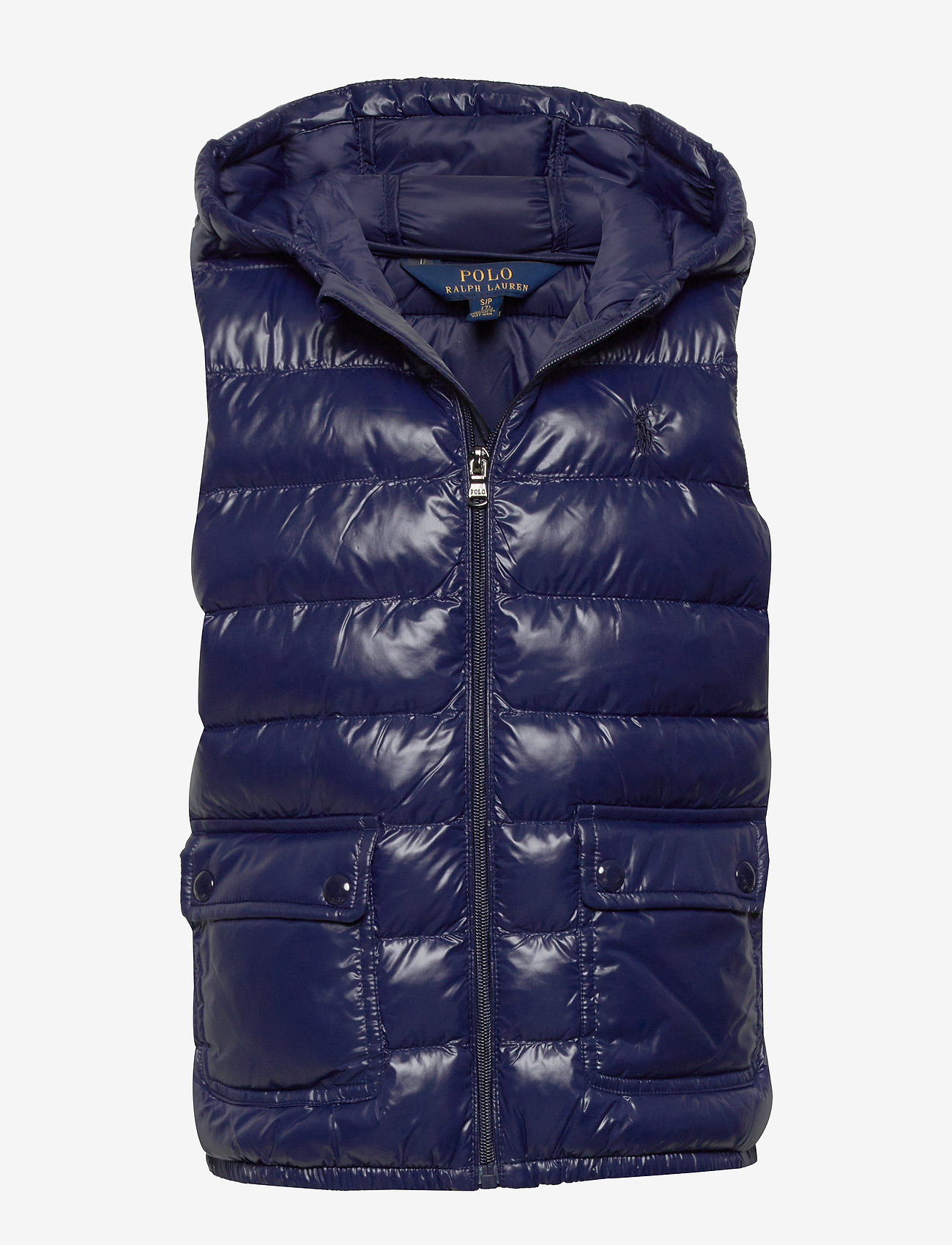 Ralph Lauren Kids - Packable Quilted Vest - vests - french navy - 0