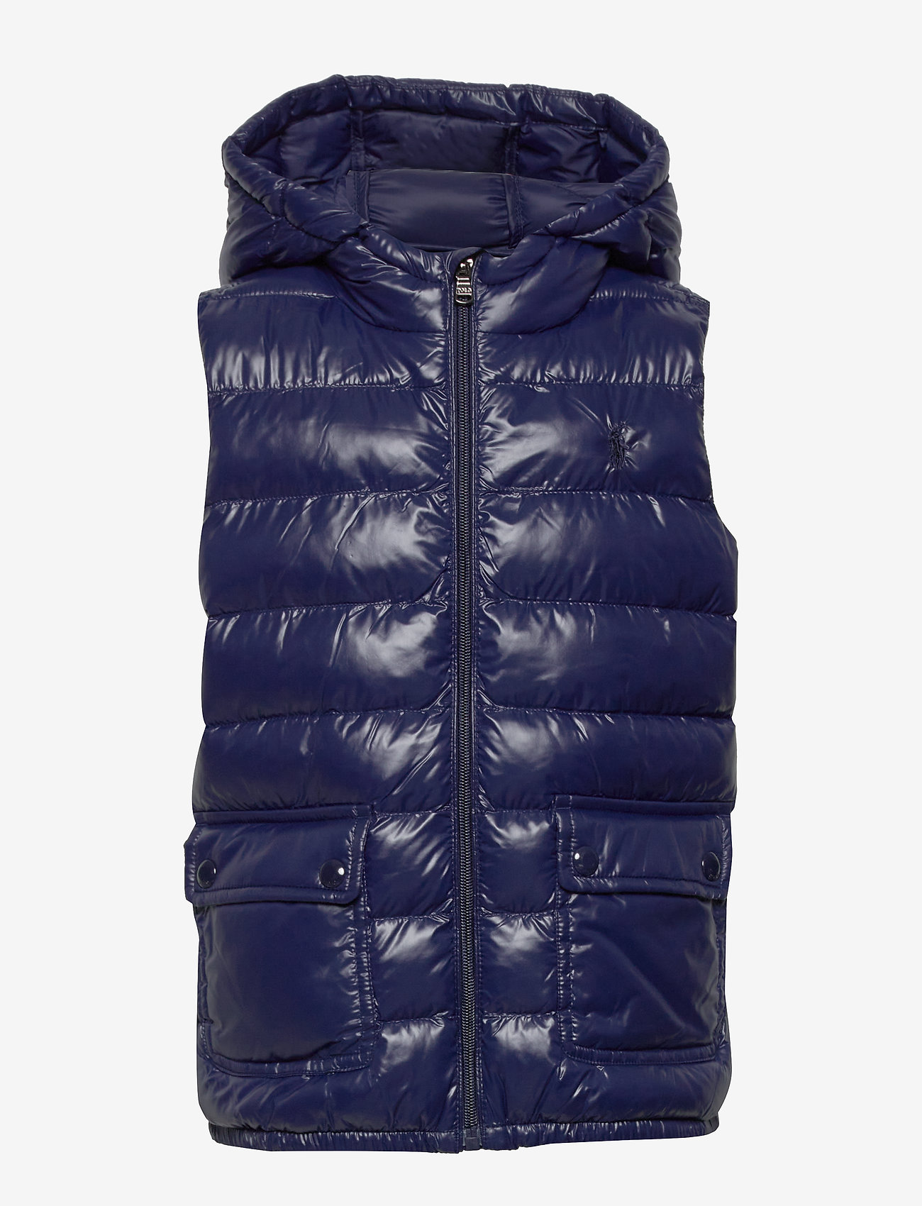 Ralph Lauren Kids - Packable Quilted Vest - vests - french navy - 1