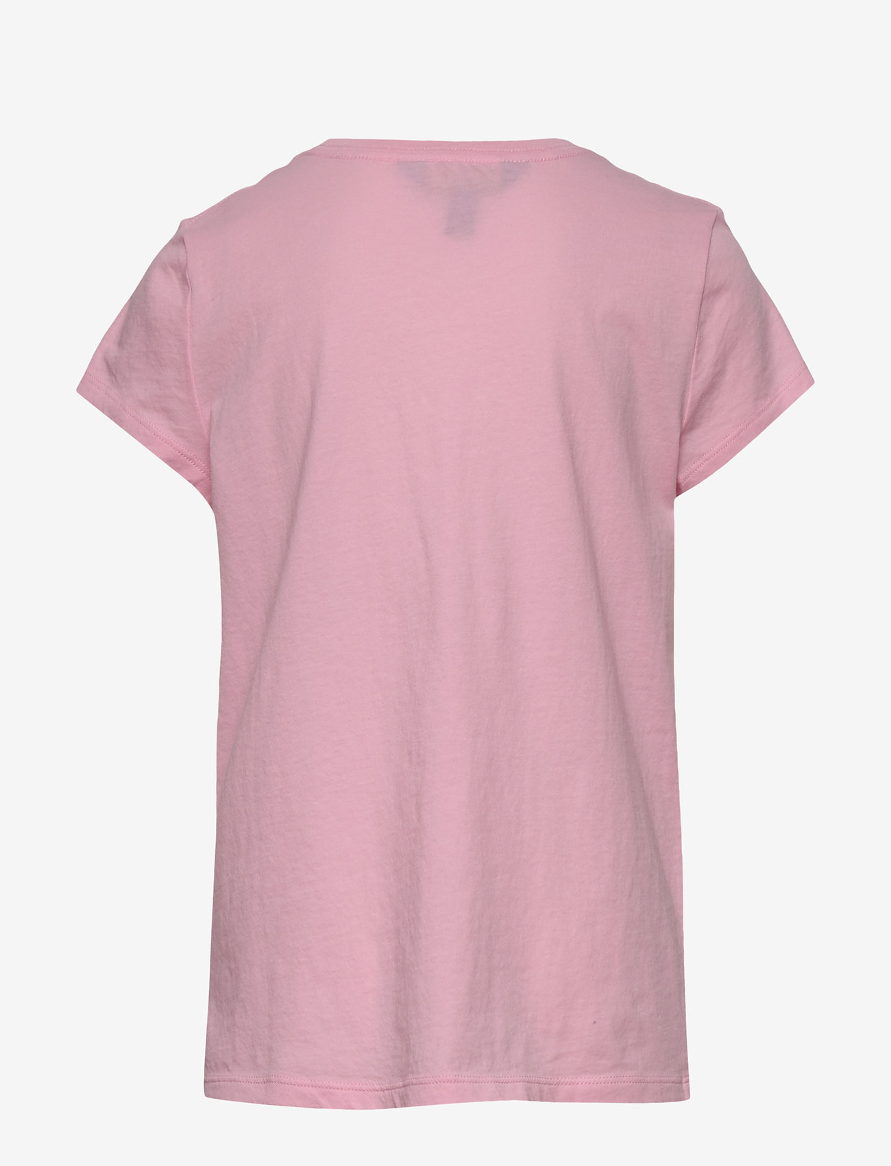 Ralph Lauren Kids - Logo Cotton Jersey Tee - short-sleeved - carmel pink - 1
