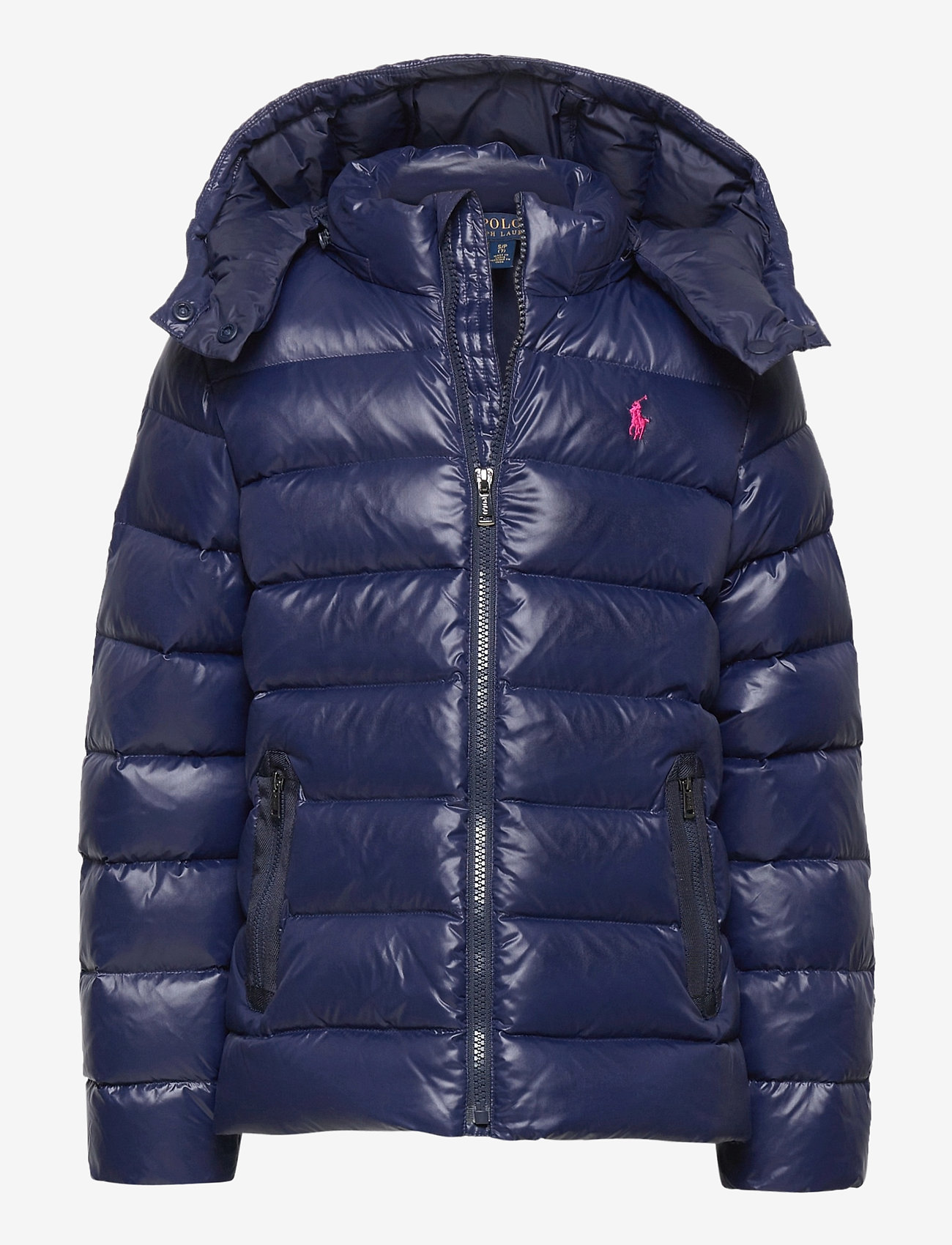 Ralph Lauren Kids - Water-Repellent Down Jacket - puffer & padded - french navy - 0