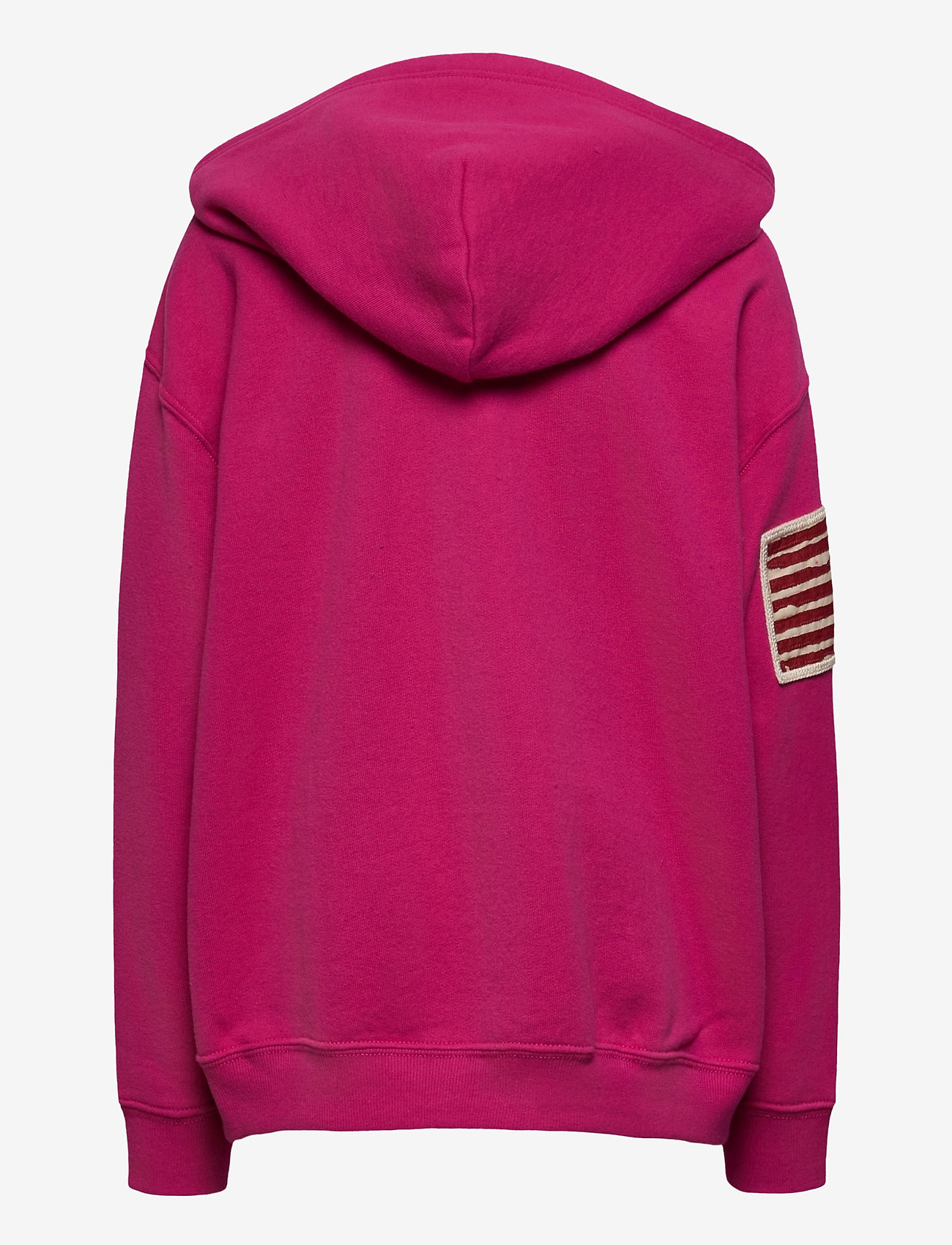 Ralph Lauren Kids - Logo Fleece Hoodie - hoodies - college pink - 1