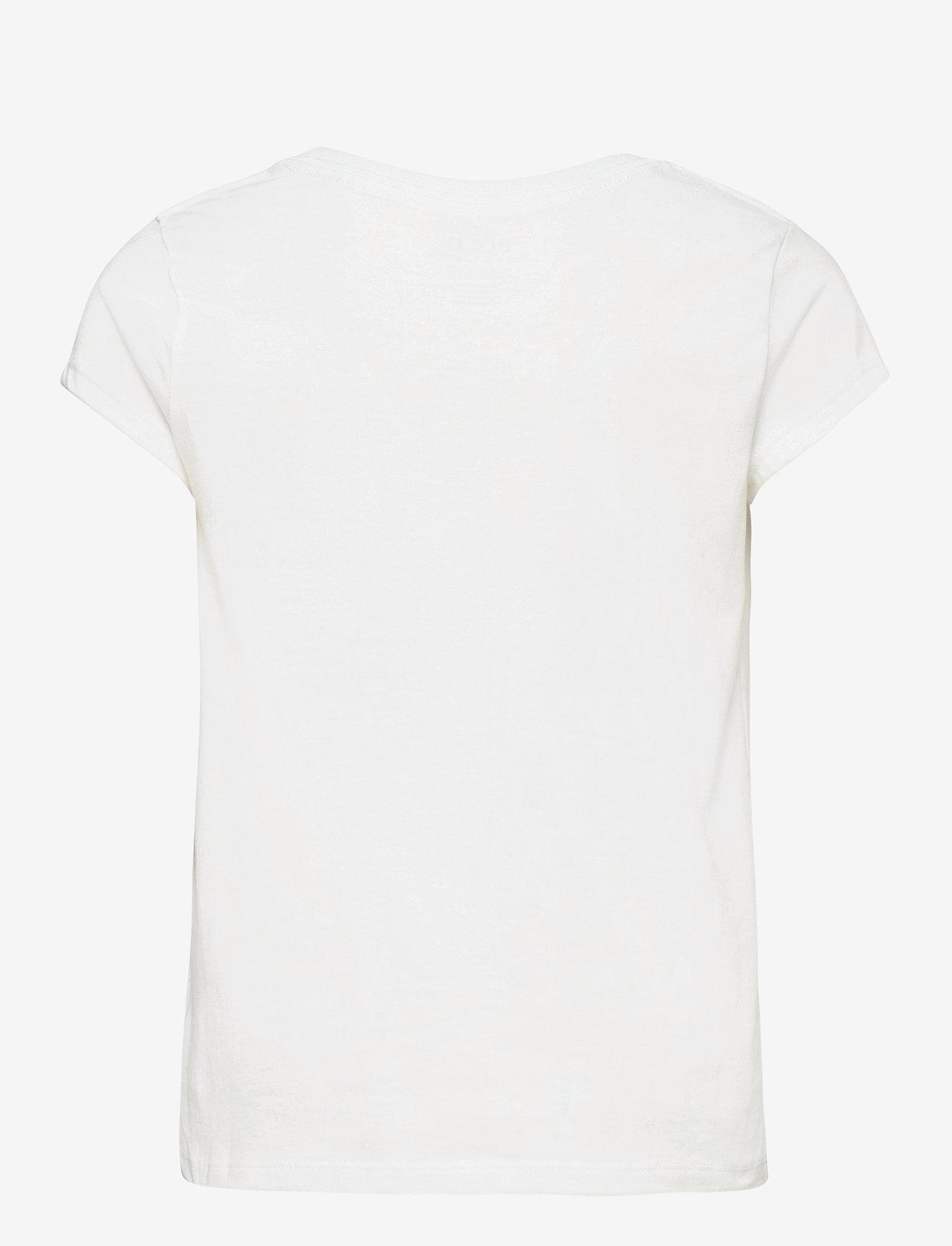 Ralph Lauren Kids - Cotton Jersey Tee - short-sleeved - white/c7996 - 1