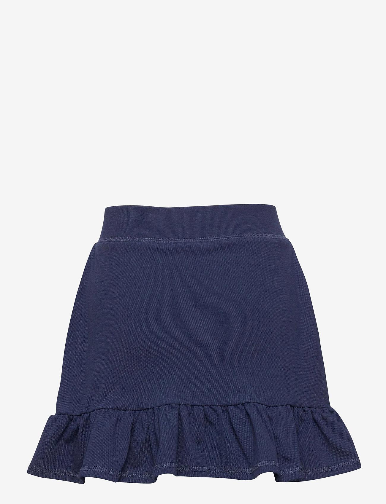 Ralph Lauren Kids - Ruffled Stretch Mesh Skort - skirts - french navy/hint - 1