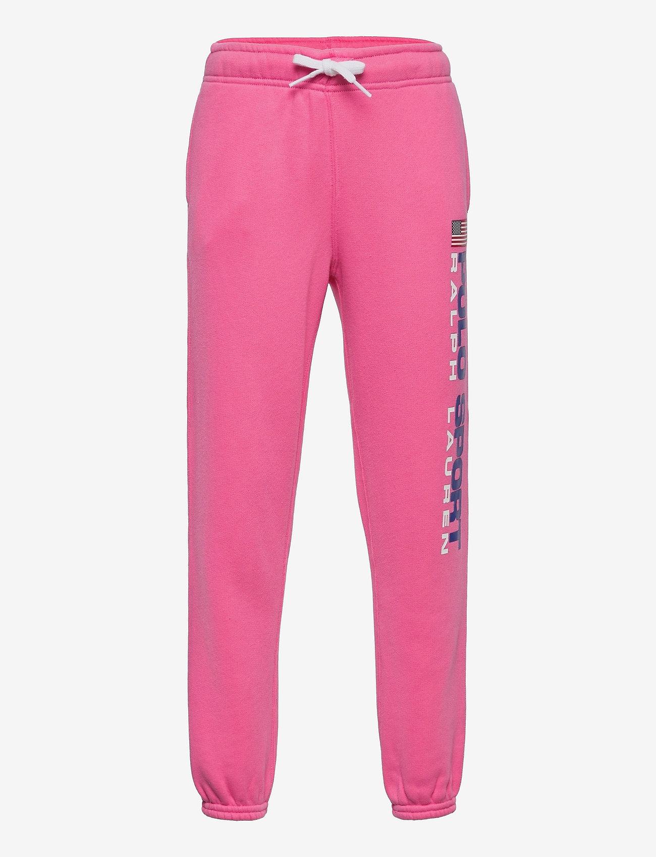 Ralph Lauren Kids - Polo Sport Fleece Jogger - sweatpants - blaze knockout pi - 0