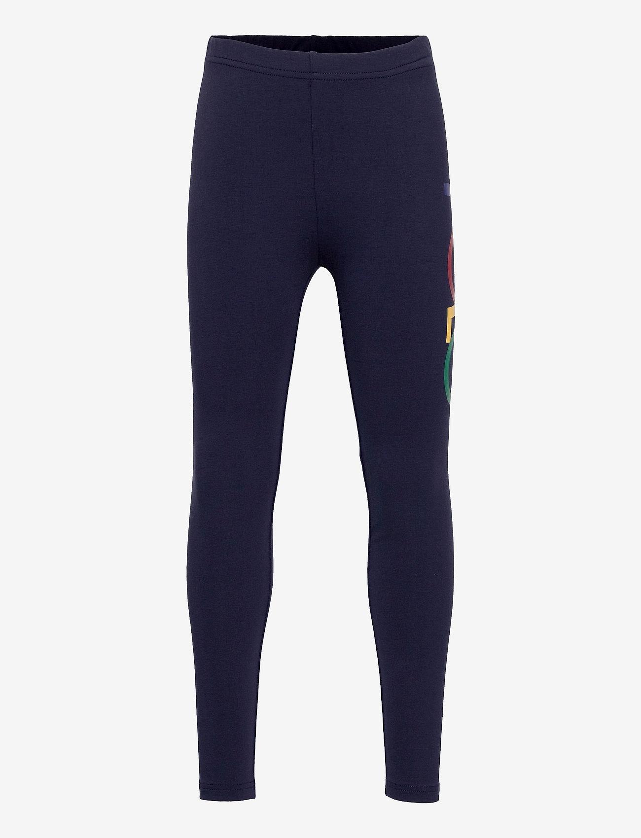 Ralph Lauren Kids - Logo Stretch Jersey Legging - leggings - french navy - 0