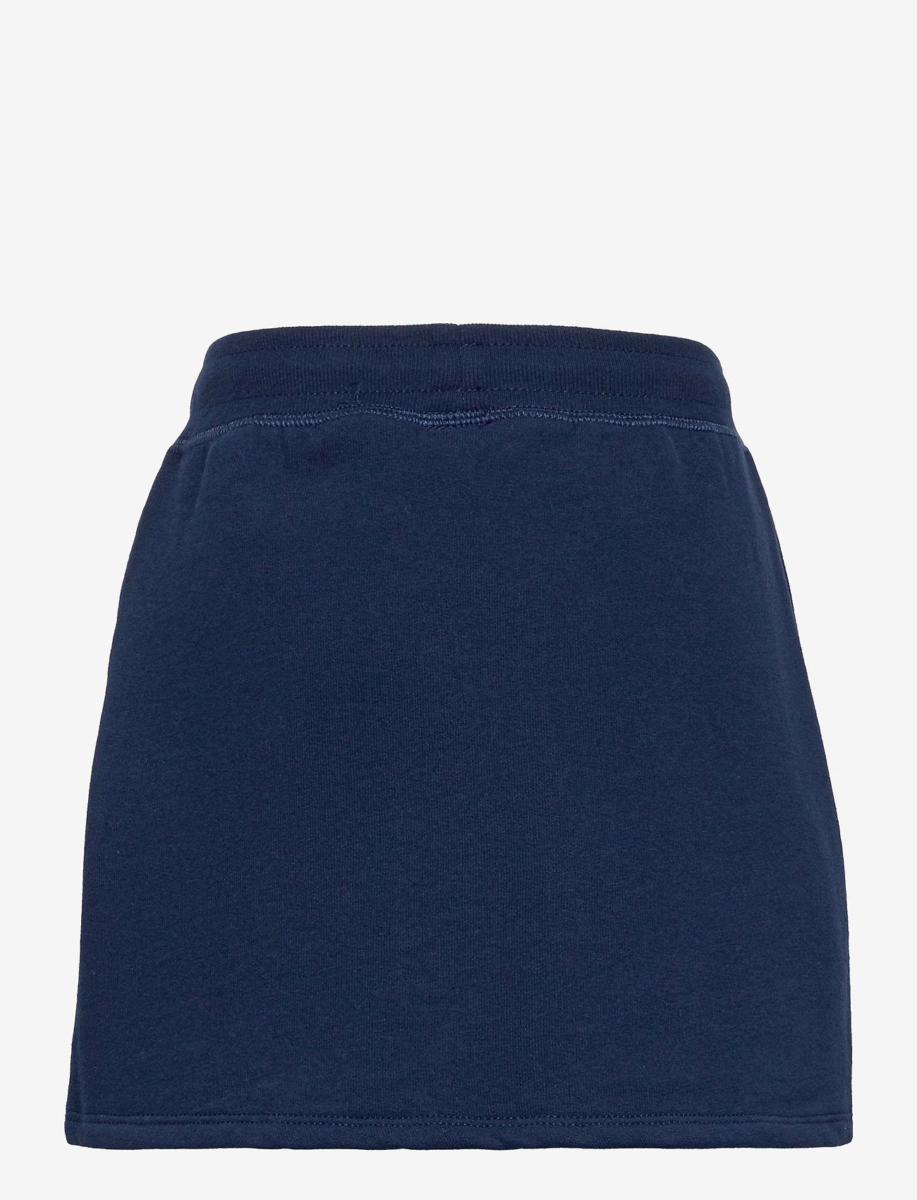 Ralph Lauren Kids - Logo Fleece Skirt - röcke - french navy - 1