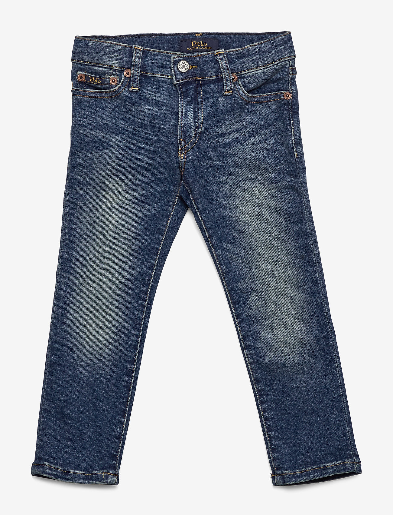 Ralph Lauren Kids - Eldridge Skinny Stretch Jean - jeans - aiden wash - 1