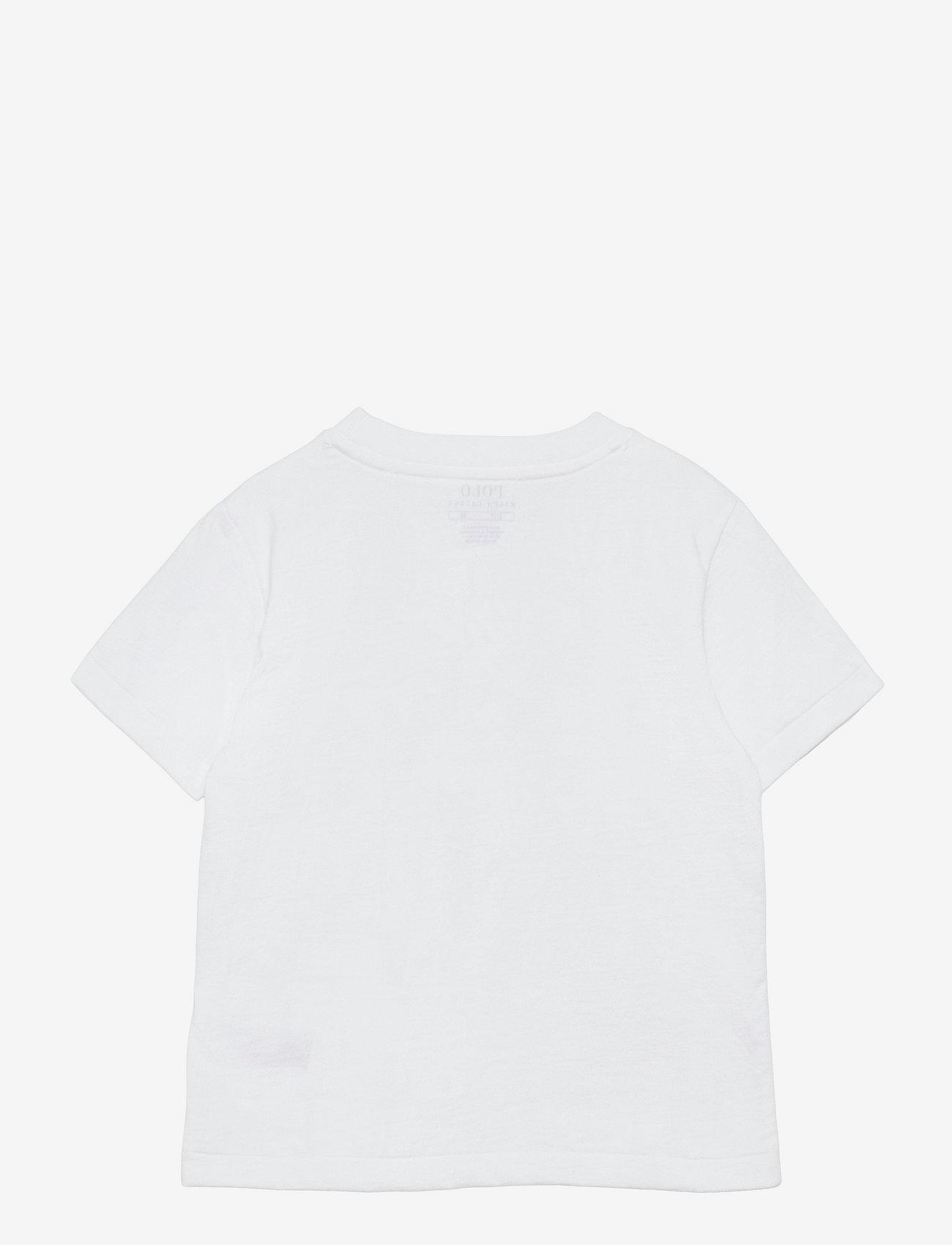 Ralph Lauren Kids - Big Pony Cotton Jersey Tee - pattern short-sleeved t-shirt - white - 1