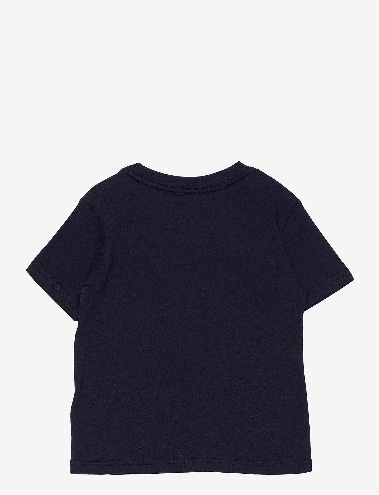 Ralph Lauren Kids - Polo Bear & Big Pony Cotton Tee - pattern short-sleeved t-shirt - cruise navy - 1