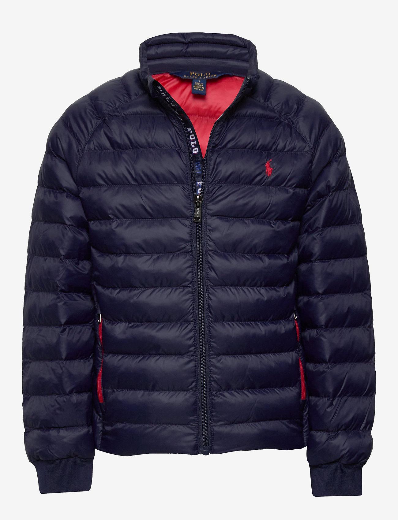 Ralph Lauren Kids - Packable Quilted Jacket - dunjakker & forede jakker - newport navy - 0