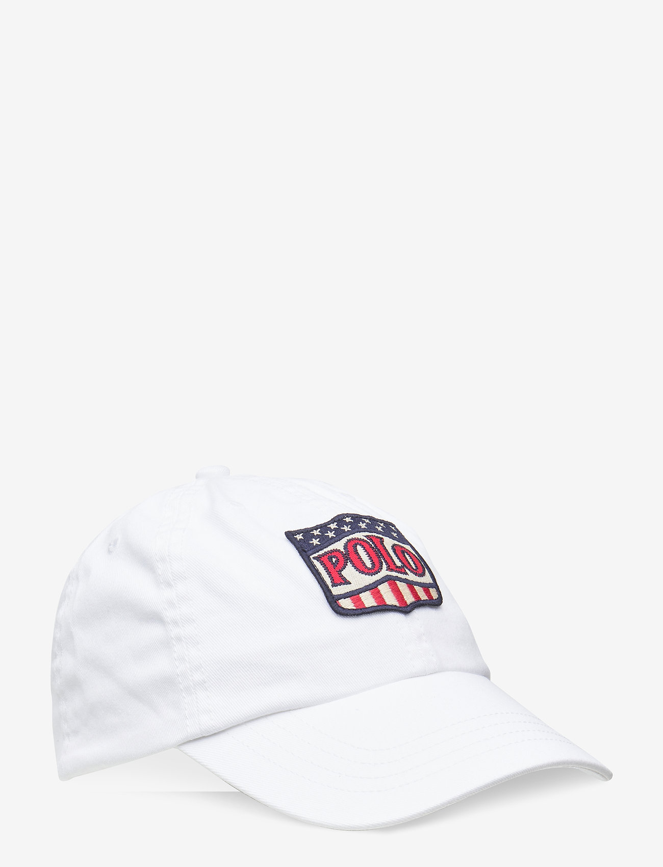 Ralph Lauren Kids - Shield Patch Chino Ball Cap - caps - white - 0