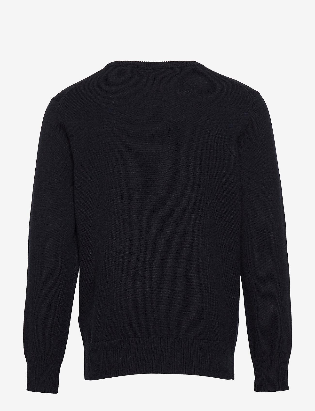 Ralph Lauren Kids - Cotton Crewneck Sweater - jumpers - rl navy - 1