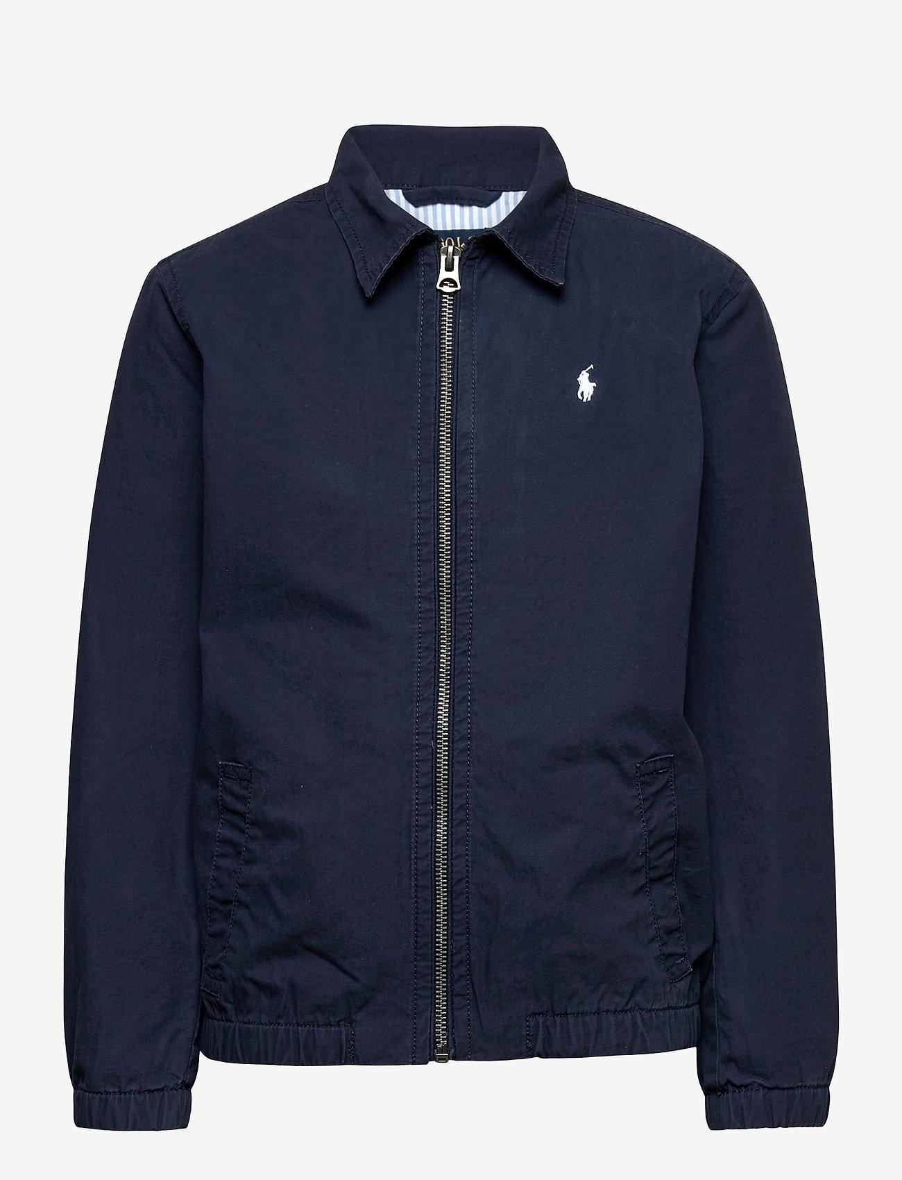 Ralph Lauren Kids - Bayport Stretch Cotton Chino Jacket - bomber jackets - newport navy - 0