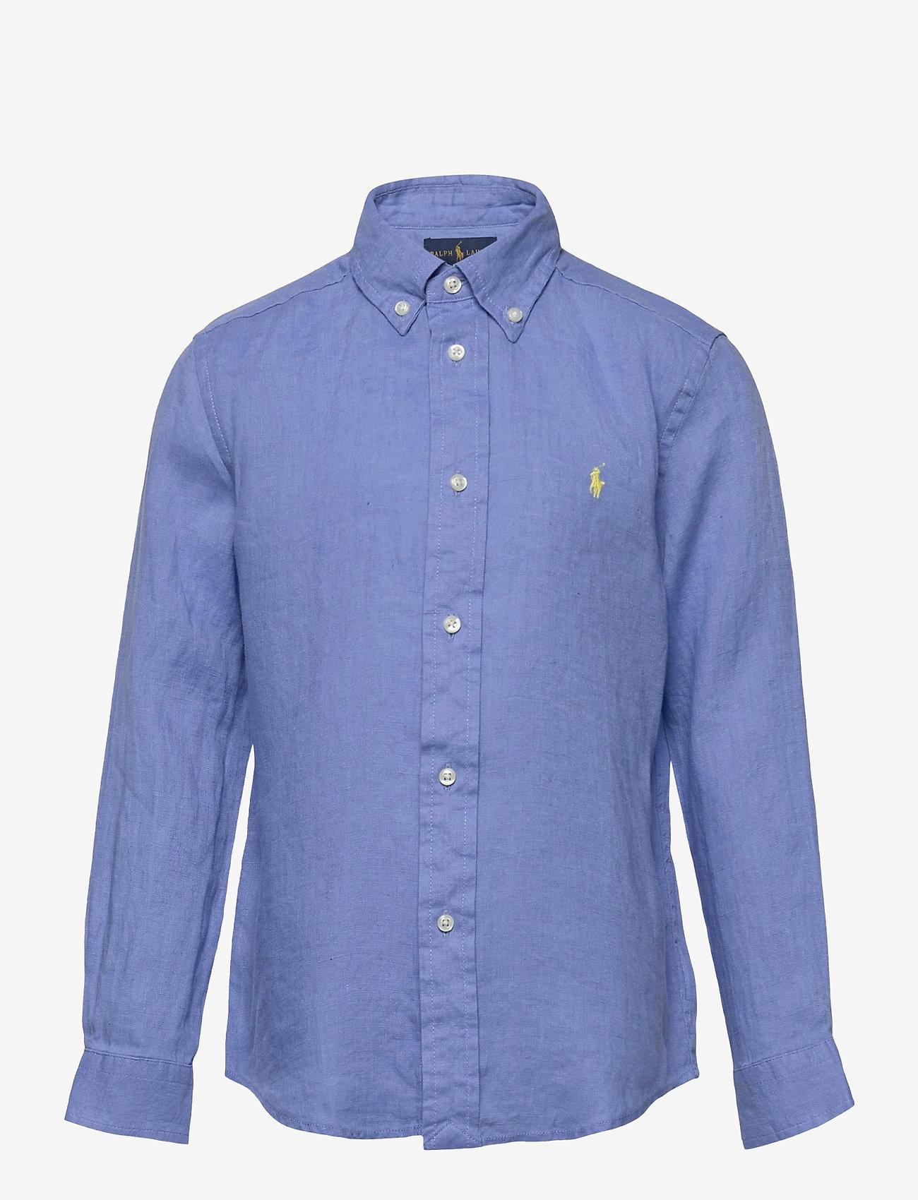 Ralph Lauren Kids - Linen Shirt - shirts - harbor island blu - 0