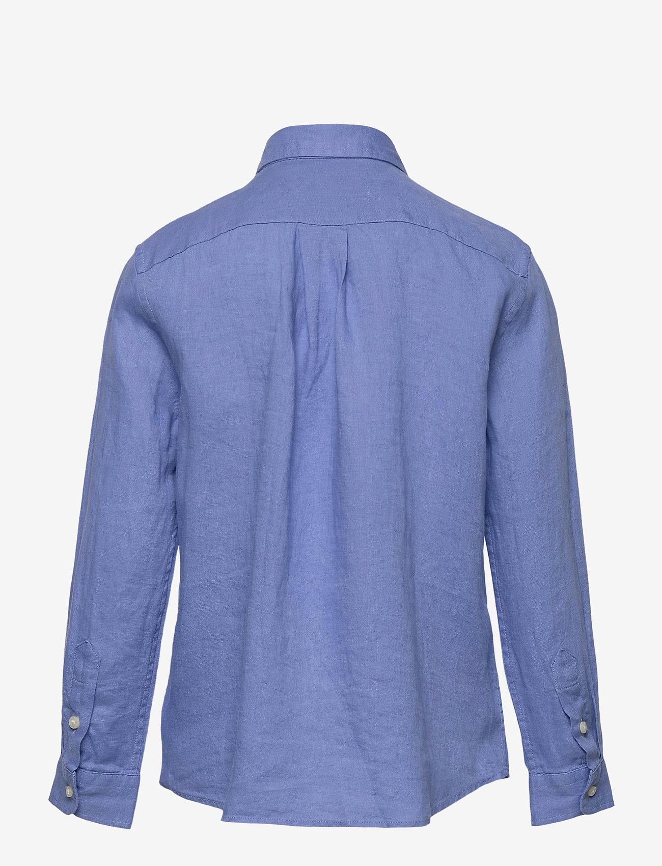 Ralph Lauren Kids - Linen Shirt - shirts - harbor island blu - 1