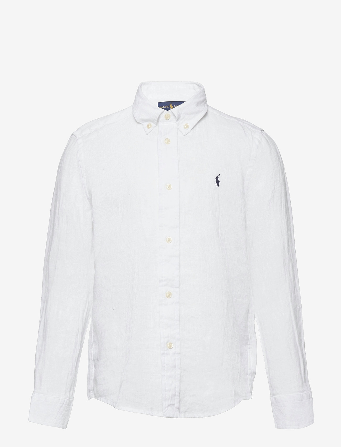 Ralph Lauren Kids - Linen Shirt - shirts - white - 0