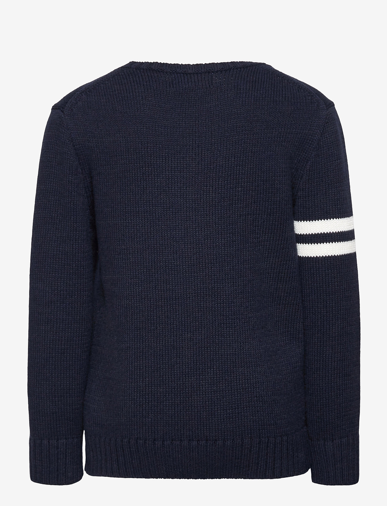 Ralph Lauren Kids - COTTON-LS CN-TP-SWT - knitwear - rl navy - 1