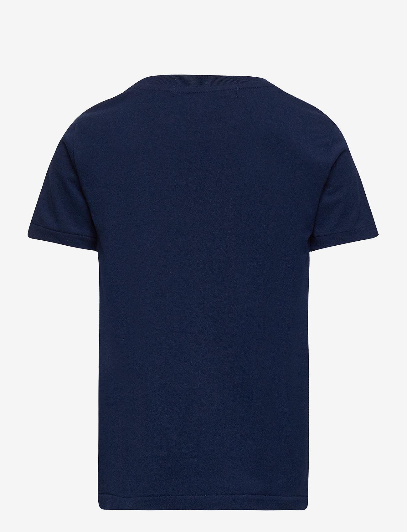 Ralph Lauren Kids - Polo Sport Cotton Jersey Tee - pattern short-sleeved t-shirt - cruise navy - 1