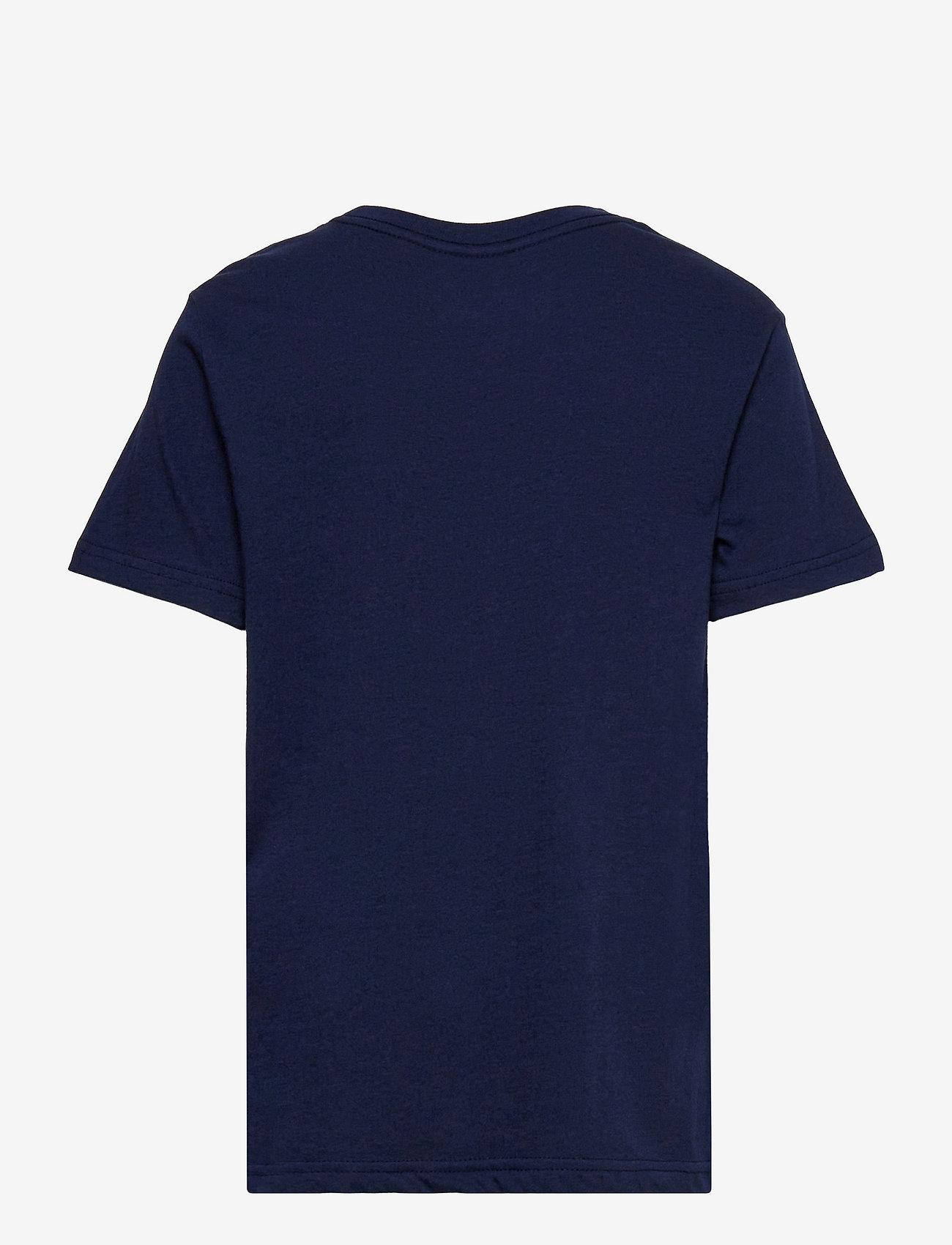Ralph Lauren Kids - Polo Bear & Big Pony Cotton Tee - pattern short-sleeved t-shirt - french navy - 1