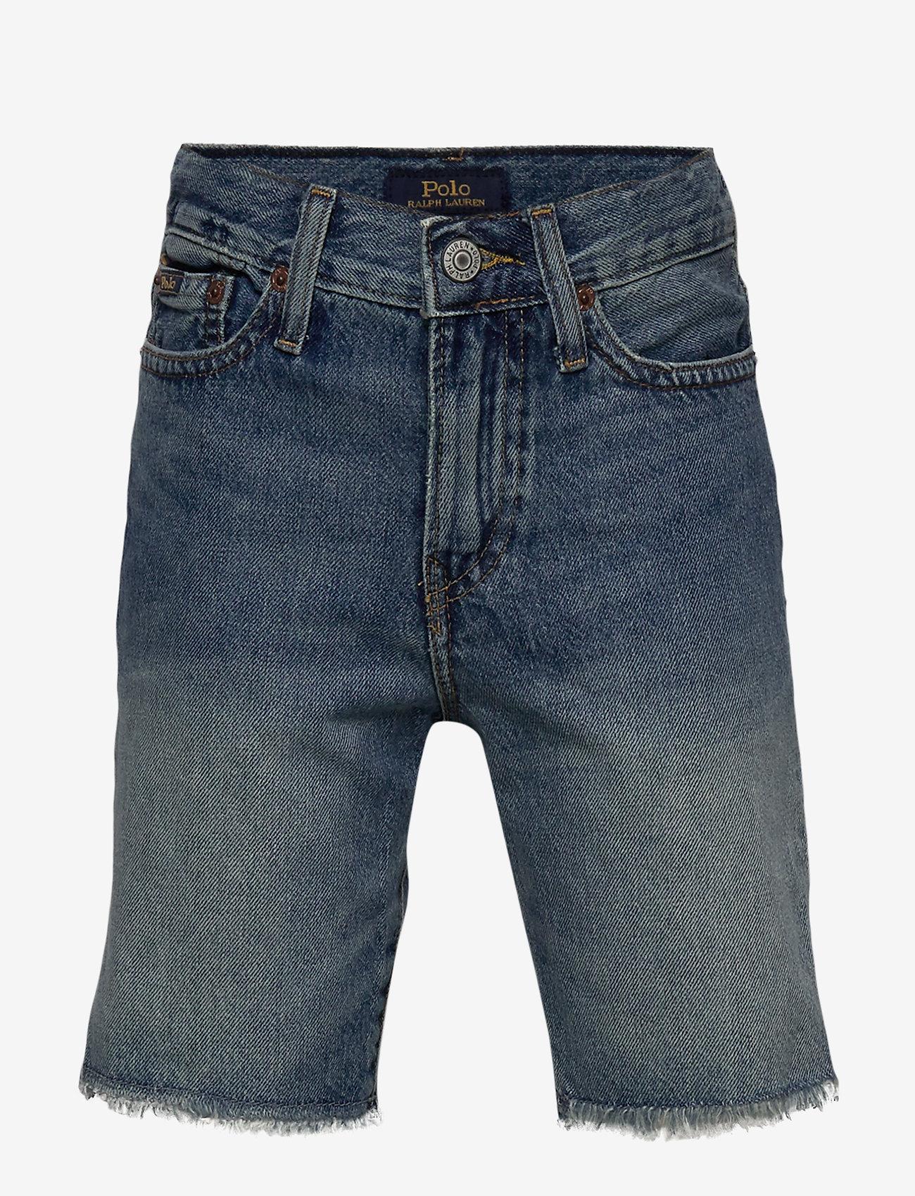 Ralph Lauren Kids - Sullivan Slim Denim Short - shorts - crawfield wash