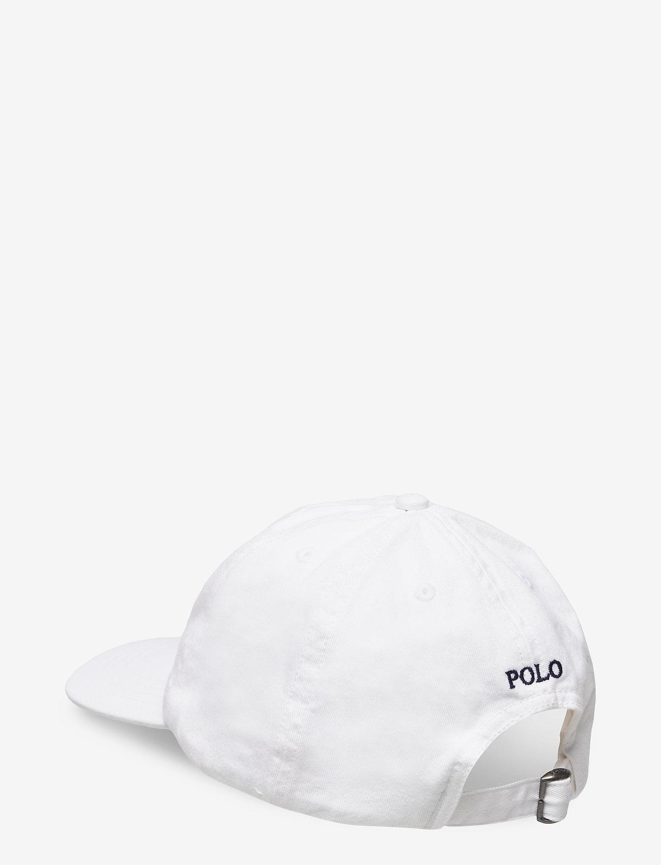 Ralph Lauren Kids - Big Pony Chino Baseball Cap - caps - white - 1
