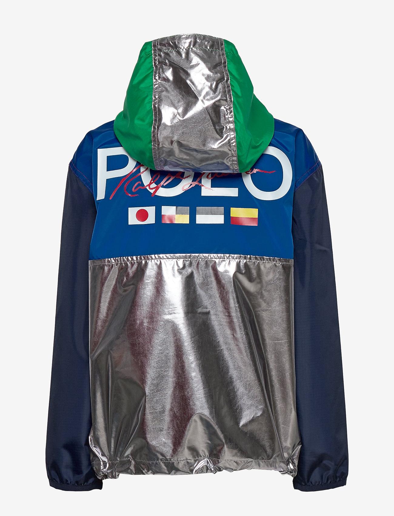 Ralph Lauren Kids - Water-Resistant Jacket - windbreaker - gunmetal