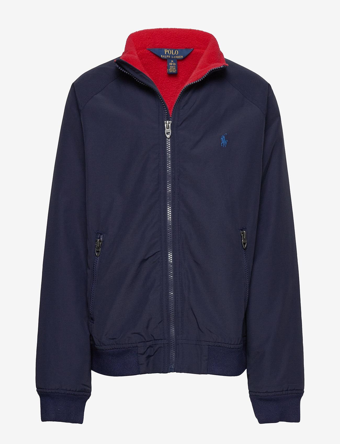 Ralph Lauren Kids - Water-Resistant Windbreaker - bomber jackets - newport navy - 0