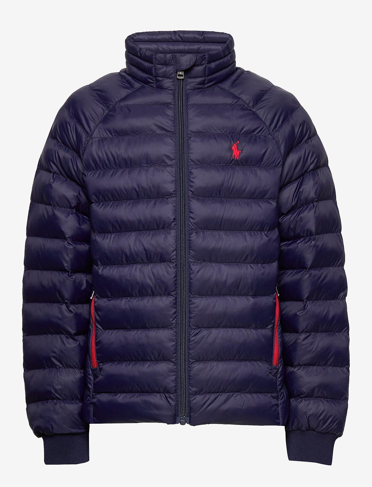 Ralph Lauren Kids - Packable Quilted Jacket - puffer & padded - newport navy - 0
