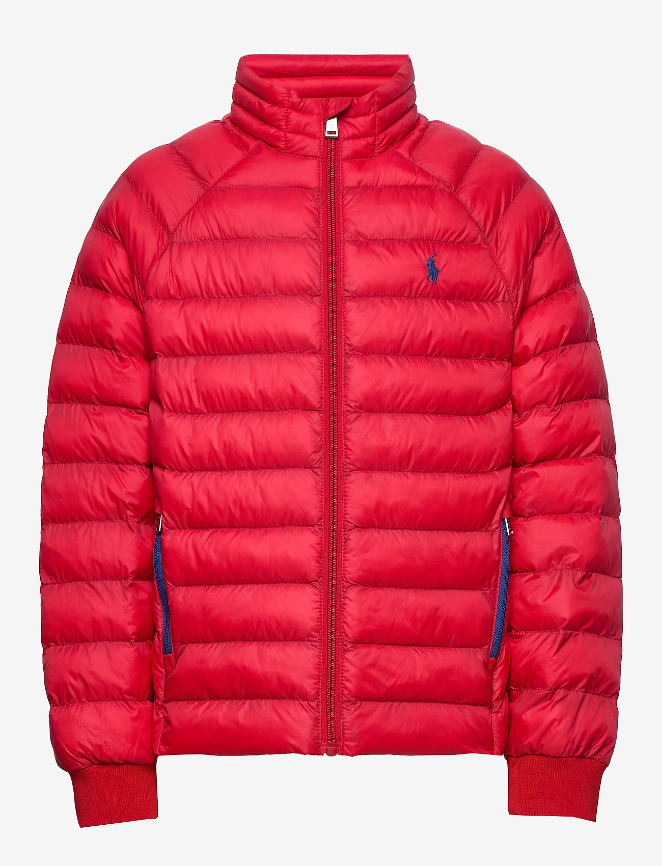 Ralph Lauren Kids - Packable Quilted Jacket - puffer & padded - rl 2000 red - 0