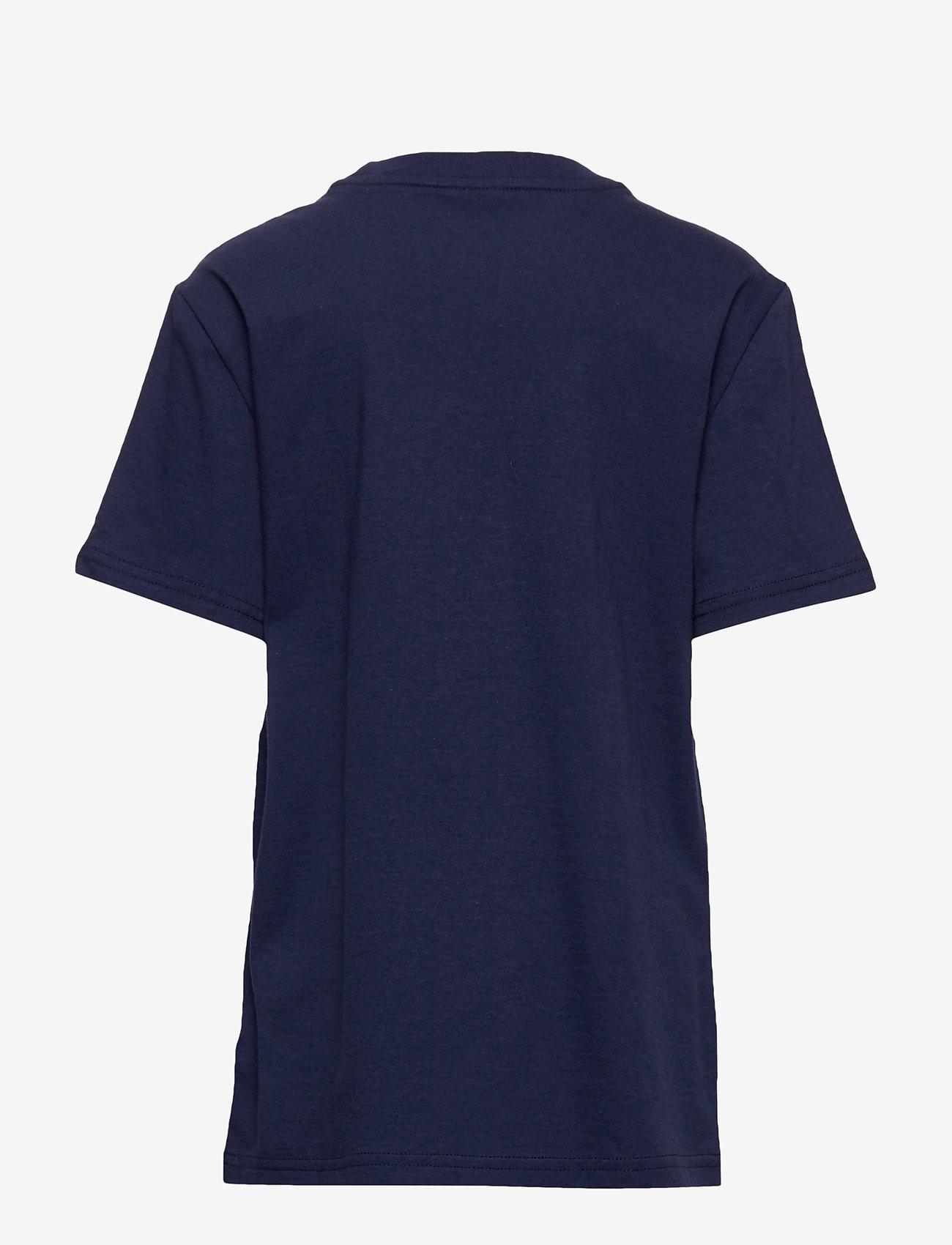 Ralph Lauren Kids - Cotton Jersey Graphic Tee - short-sleeved - newport navy - 1
