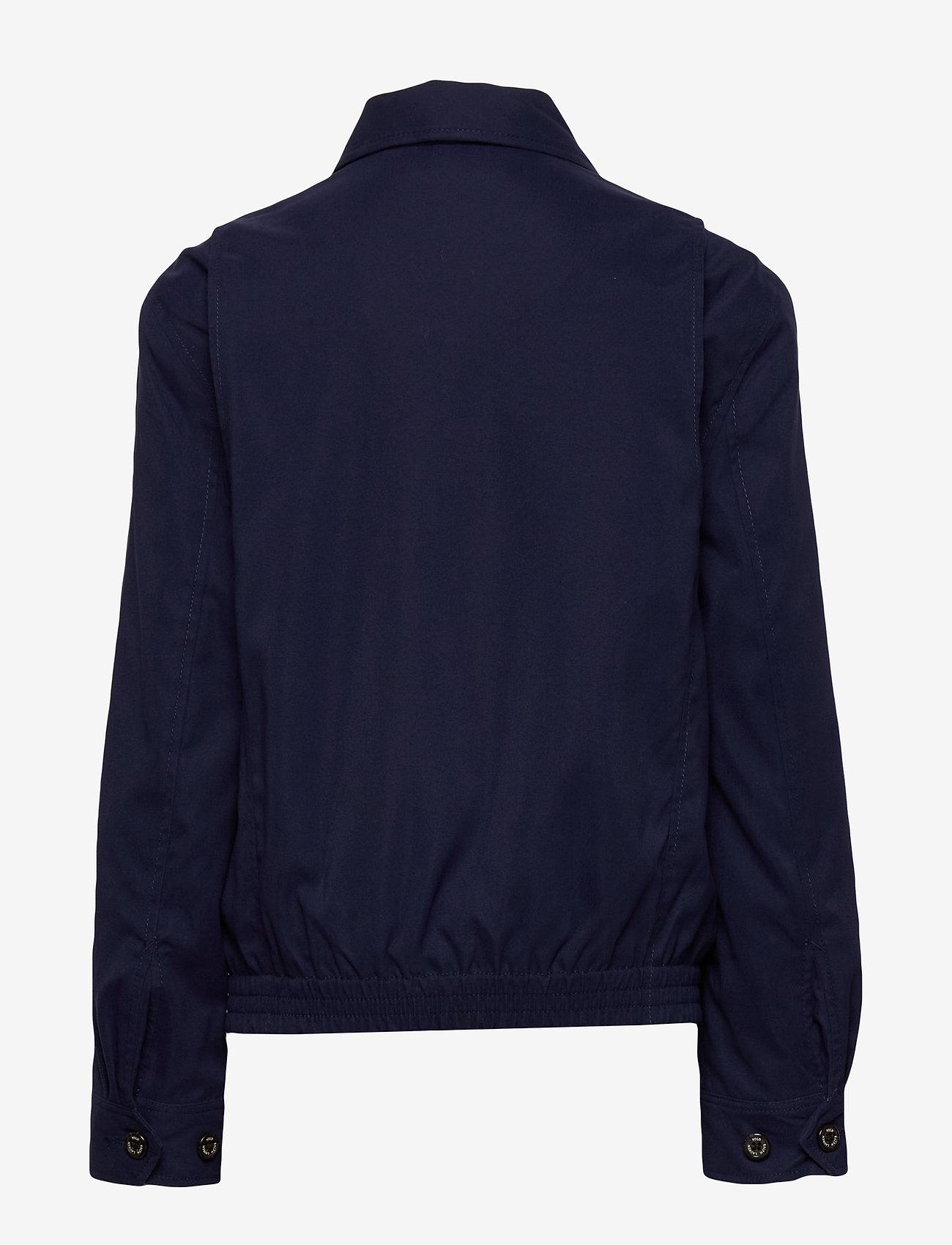Ralph Lauren Kids - Water-Resistant Twill Jacket - bomber jackets - newport navy