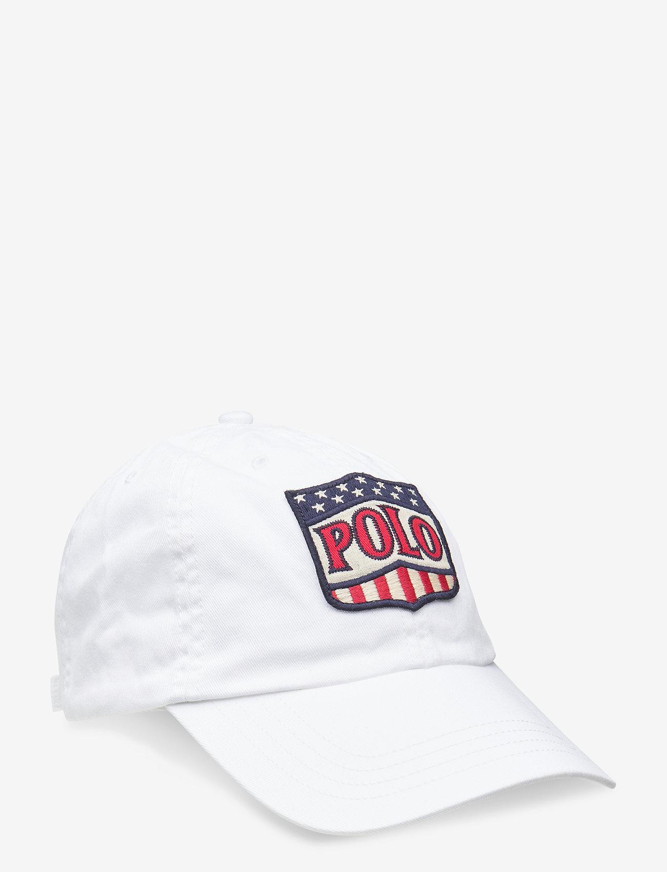 Ralph Lauren Kids - Cotton Chino Baseball Cap - caps - white - 0