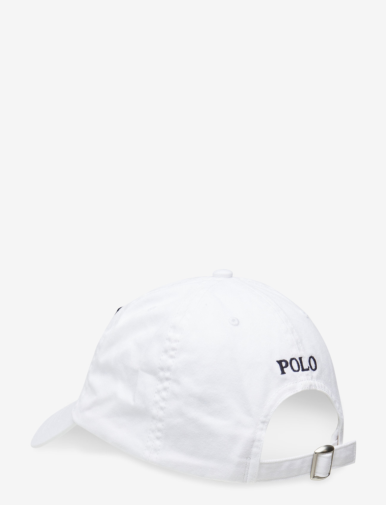Ralph Lauren Kids - Cotton Chino Baseball Cap - caps - white - 1