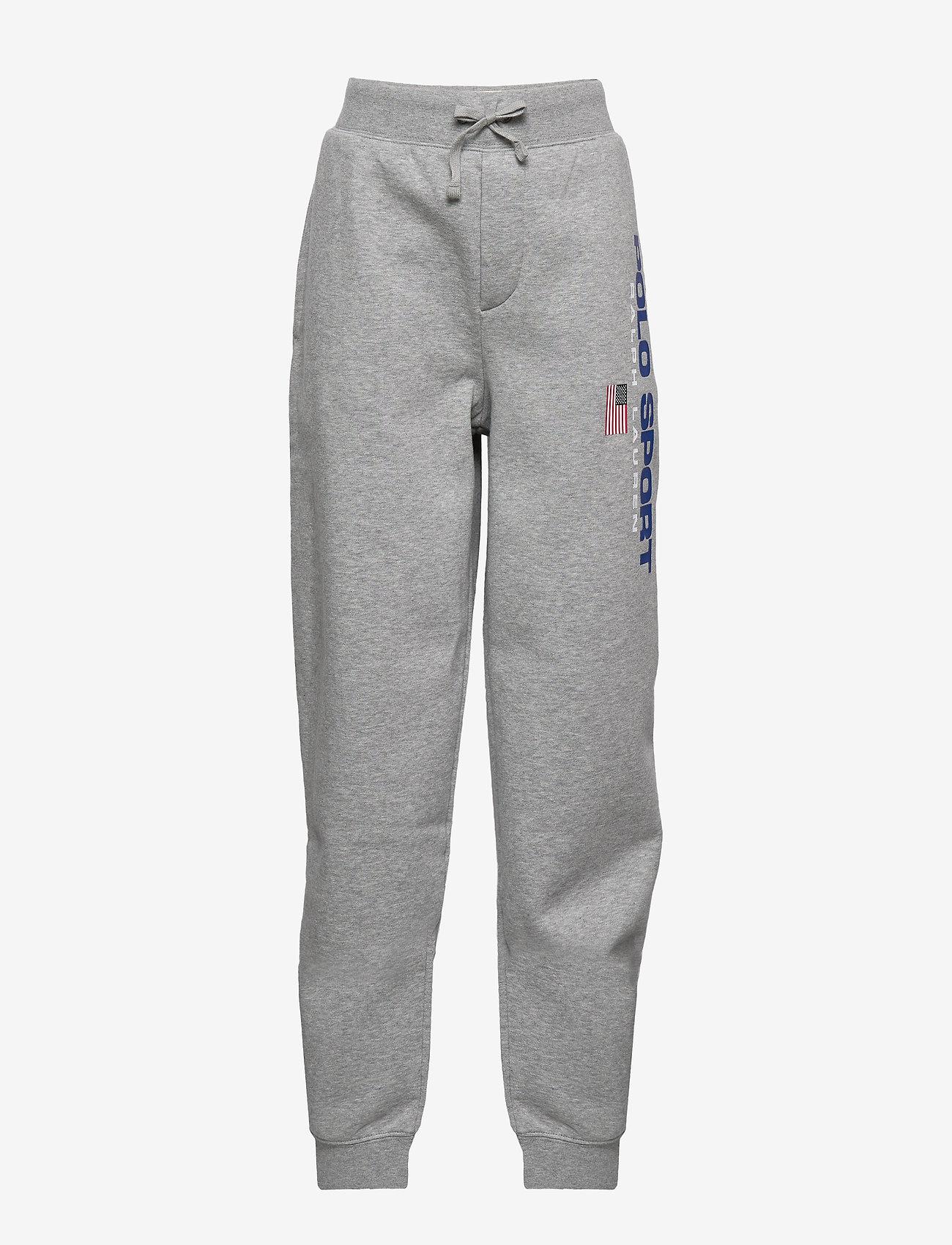 Ralph Lauren Kids - Polo Sport Fleece Jogger - sweatpants - andover heather - 0