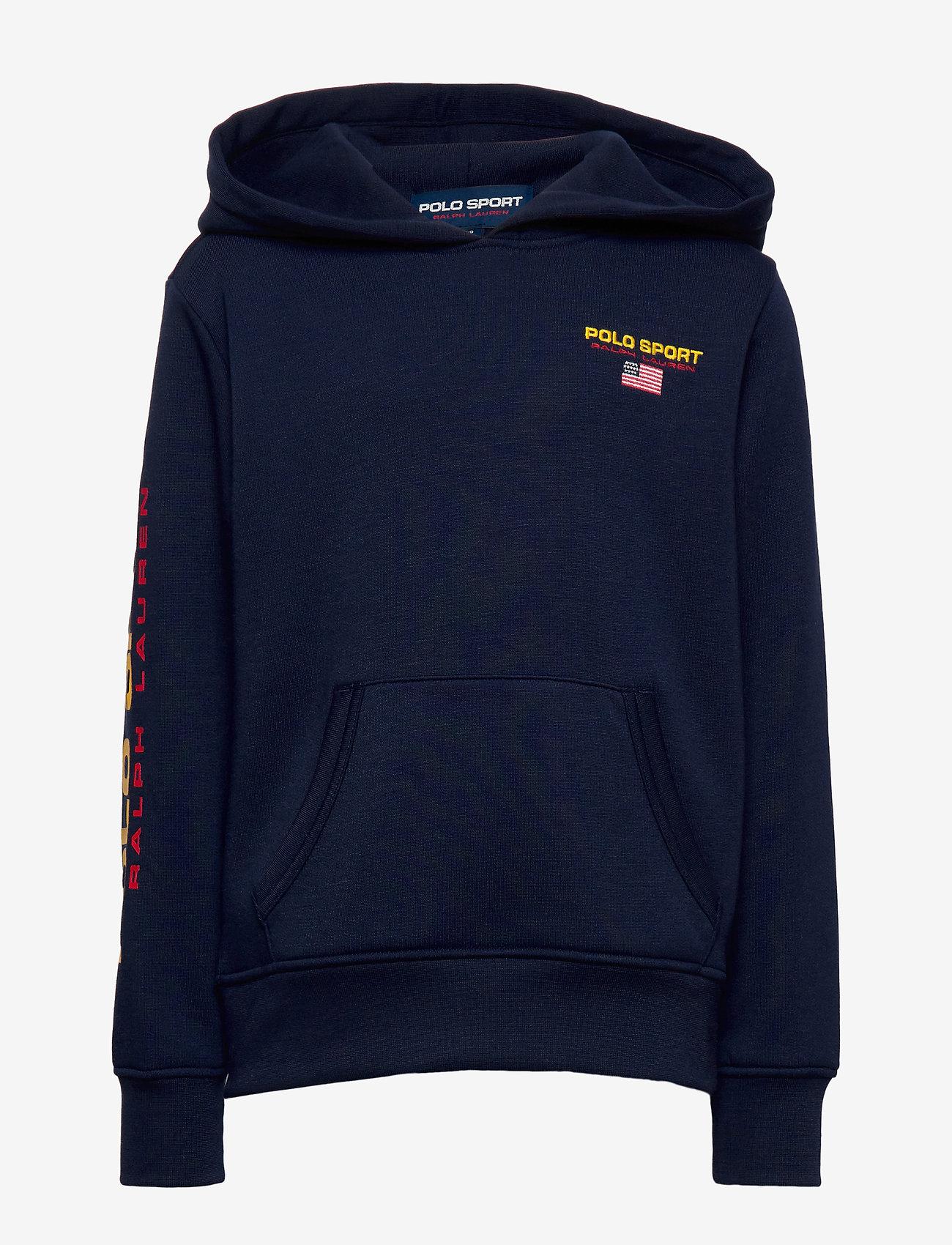 Ralph Lauren Kids - Polo Sport Fleece Hoodie - hoodies - cruise navy - 0