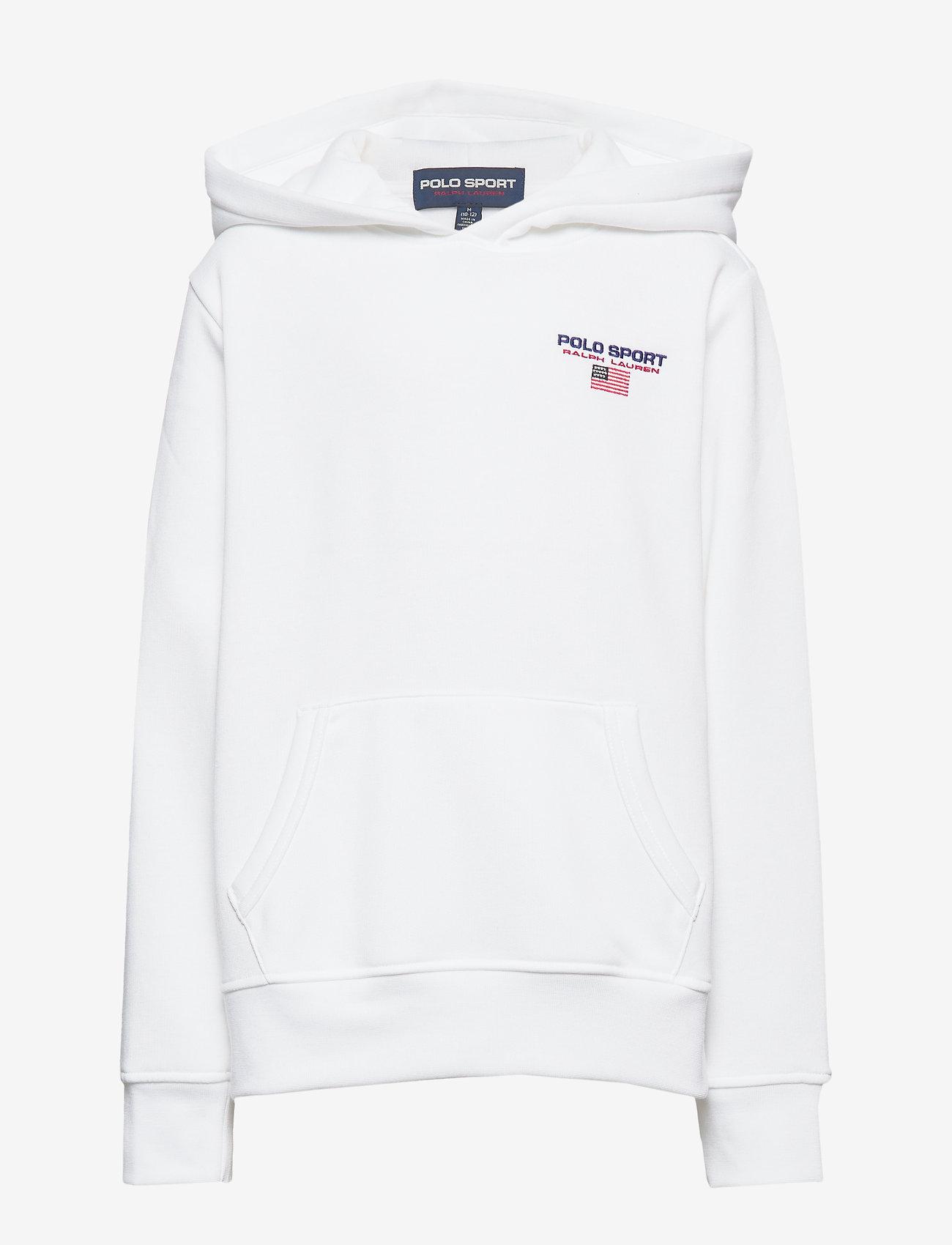 Ralph Lauren Kids - Polo Sport Fleece Hoodie - pulls à capuche - white - 0