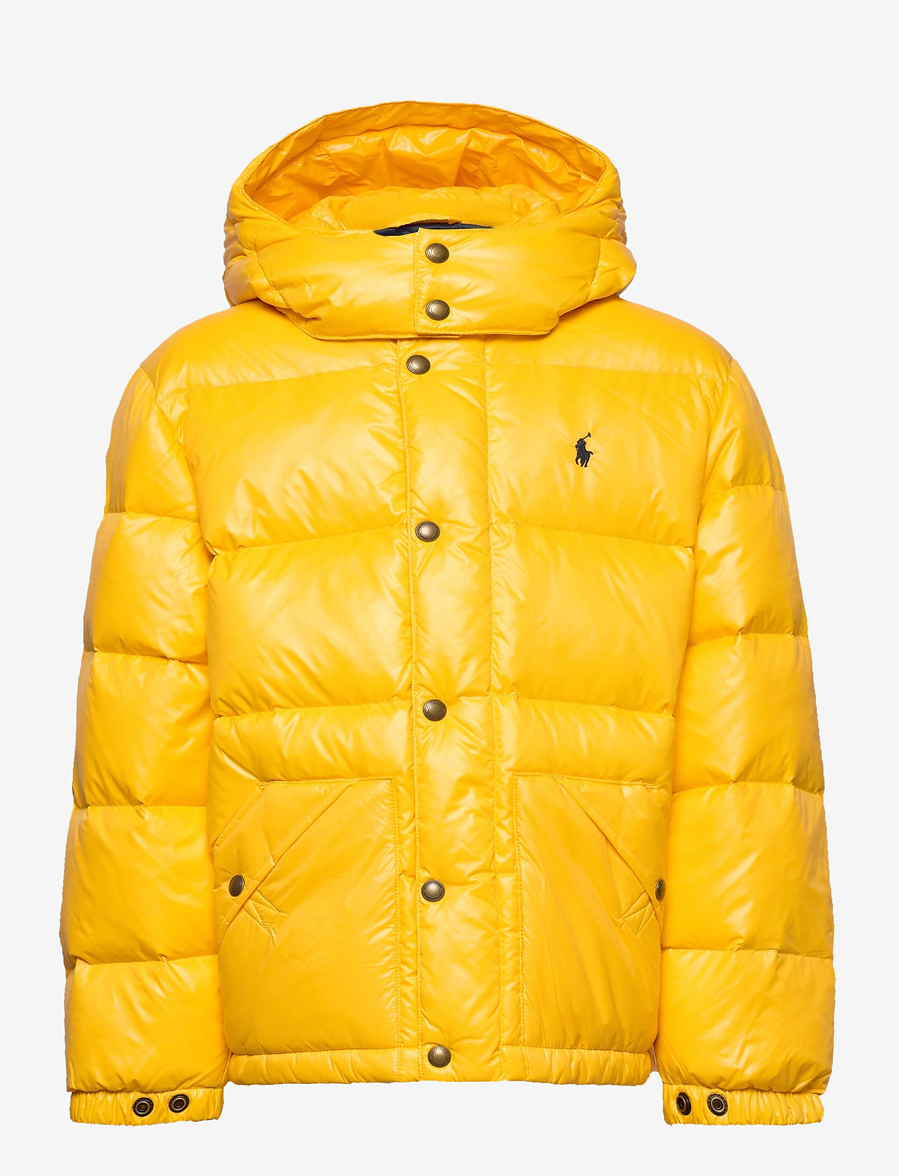 Ralph Lauren Kids - Water-Repellent Down Jacket - puffer & padded - gold bugle - 1