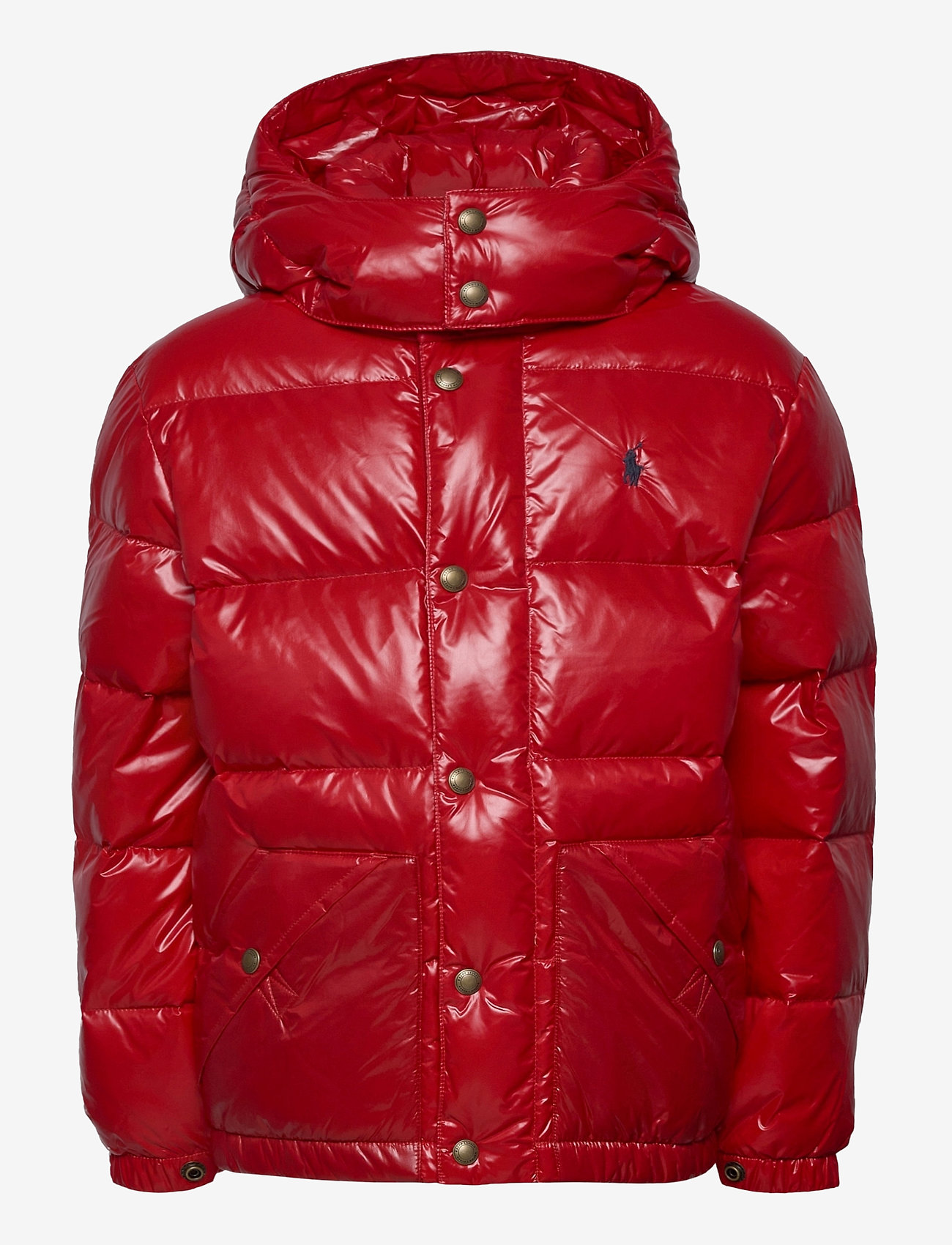 Ralph Lauren Kids - Water-Repellent Down Jacket - puffer & padded - rl 2000 red - 1