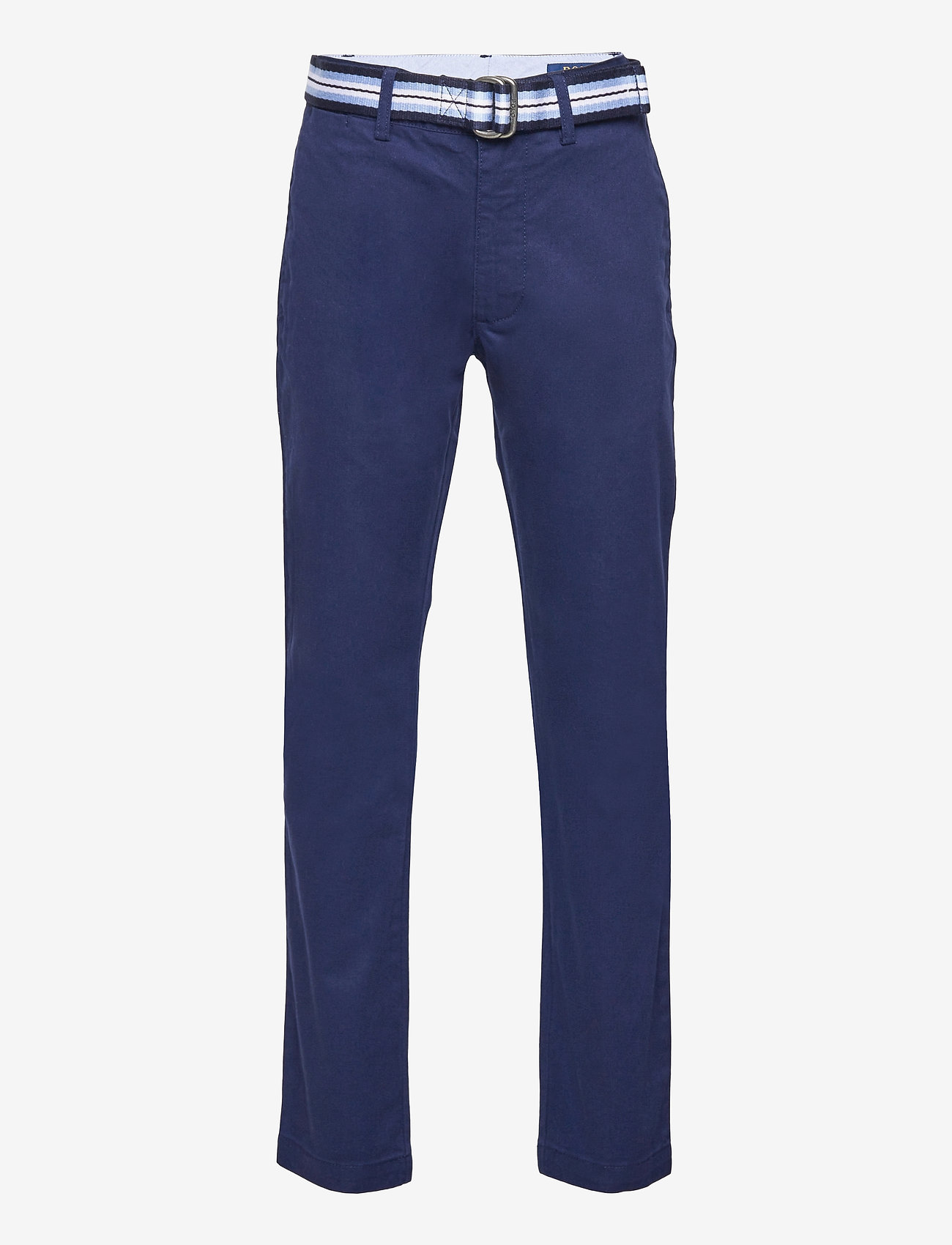 Ralph Lauren Kids - Belted Super Skinny Stretch Chino Pant - trousers - newport navy - 0